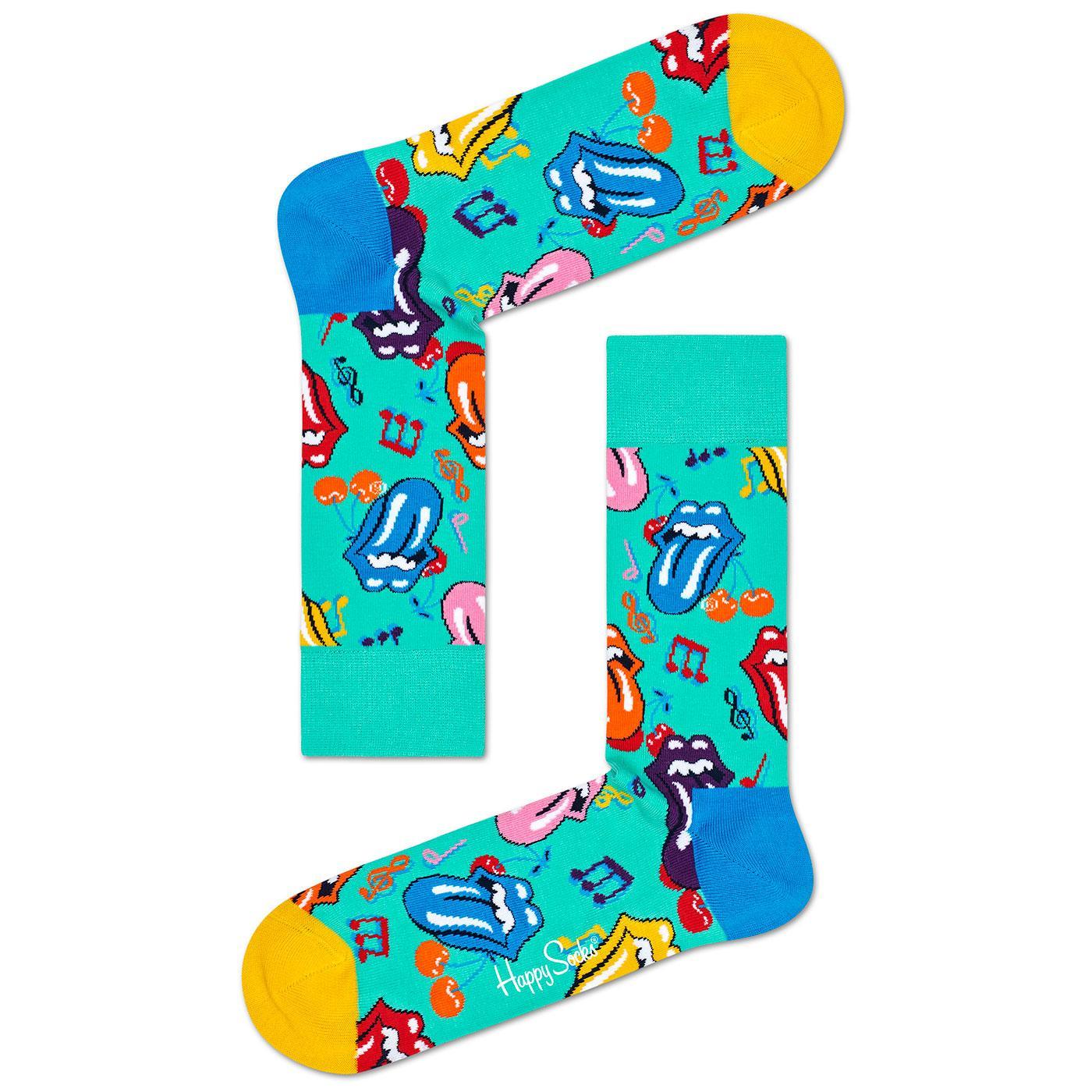 + HAPPY SOCKS x ROLLING STONES Shattered Socks
