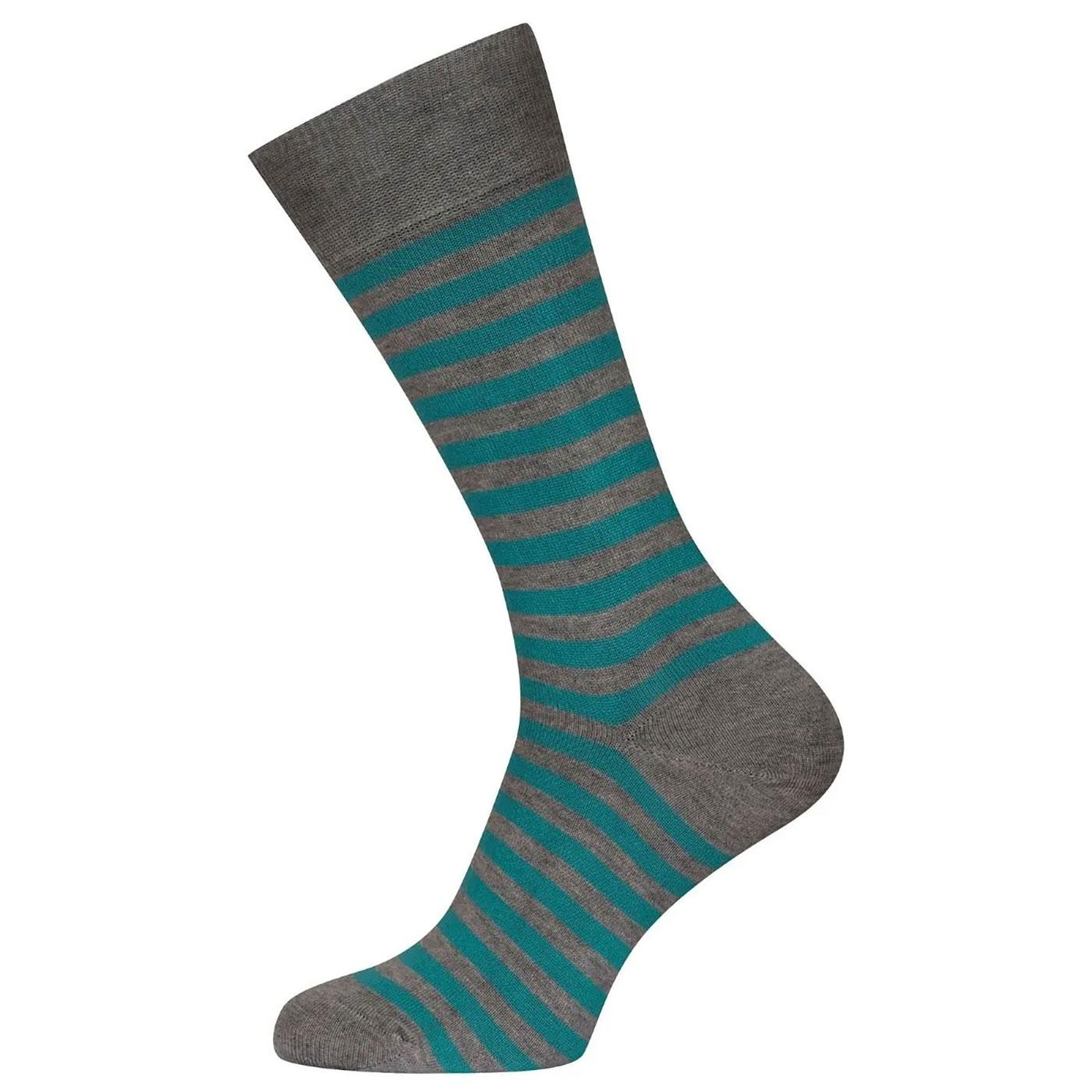 + Hecate JOHN SMEDLEY Men's Striped Cotton Socks C
