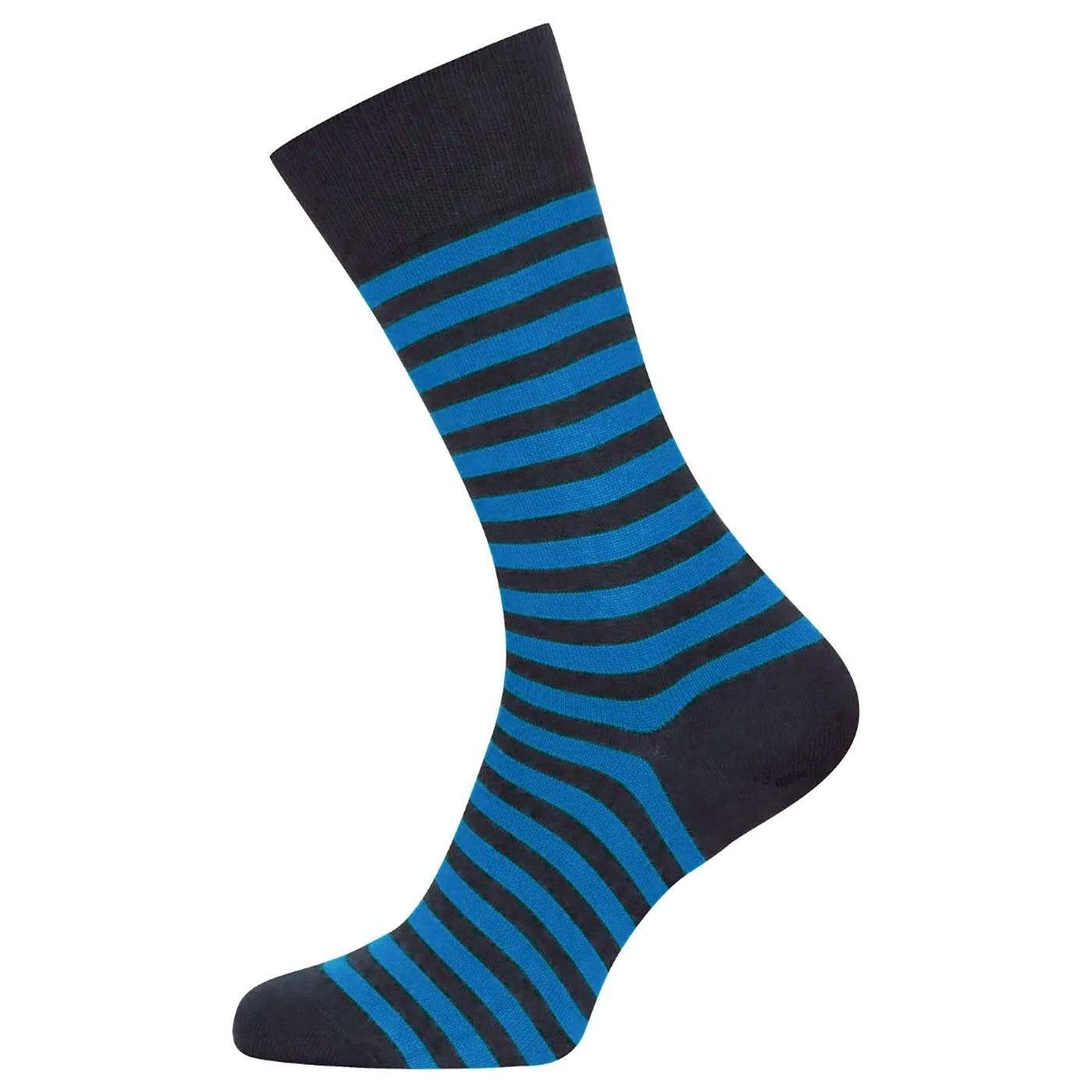 + Hecate JOHN SMEDLEY Men's Striped Cotton Socks N