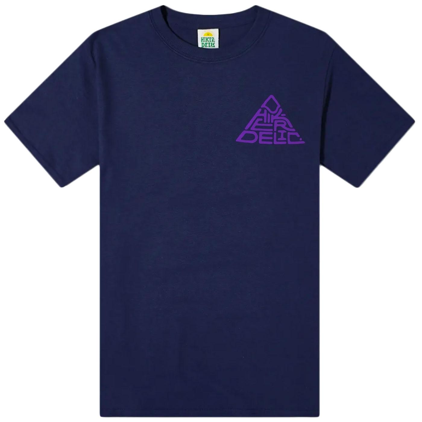 HIKERDELIC 60 Degrees Mountain T-shirt (Navy)