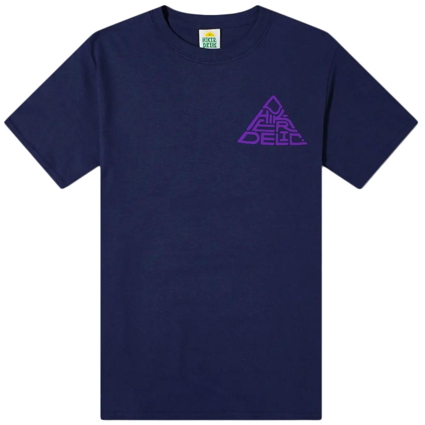 HIKERDELIC 60 Degrees Mountain T-shirt (Navy)