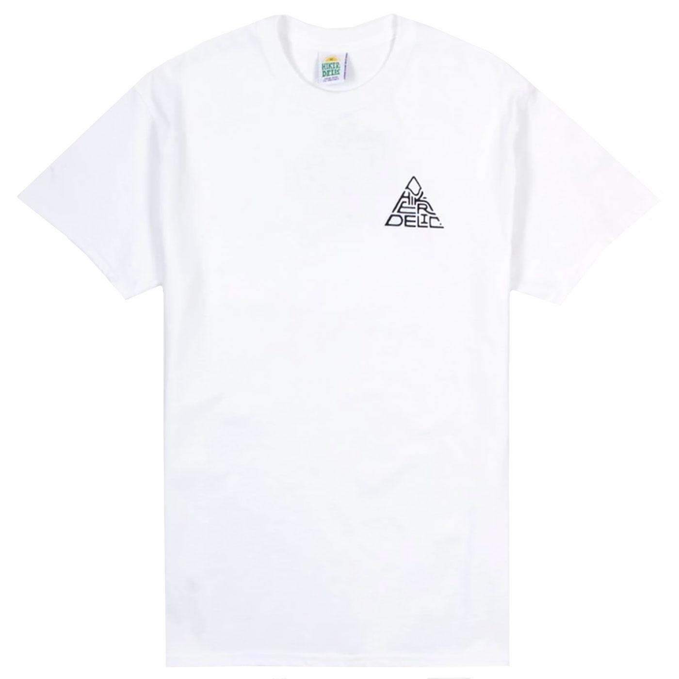 HIKERDELIC 60 Degrees Mountain T-shirt (White)