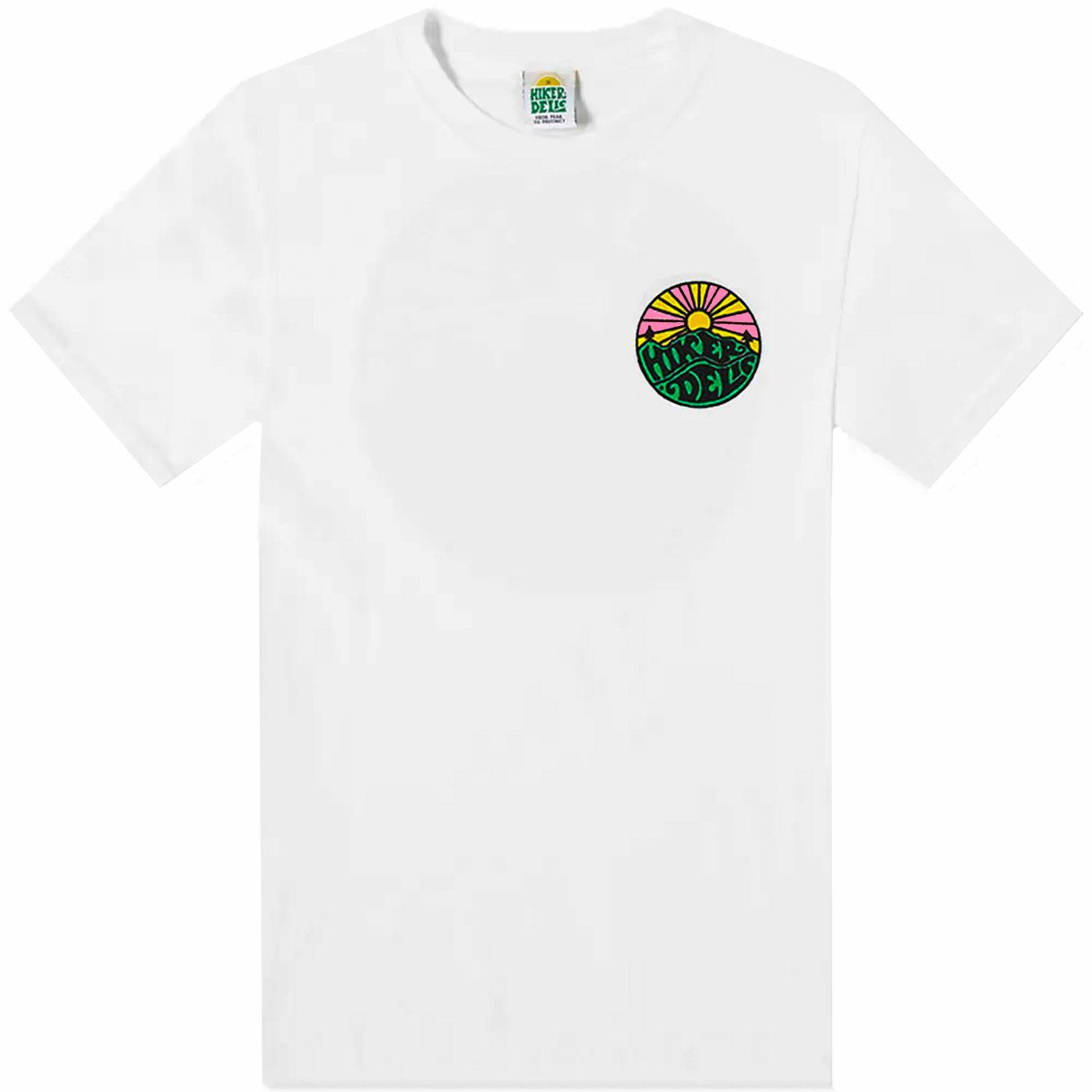 HIKERDELIC Men's Retro Original Logo Tee (White)