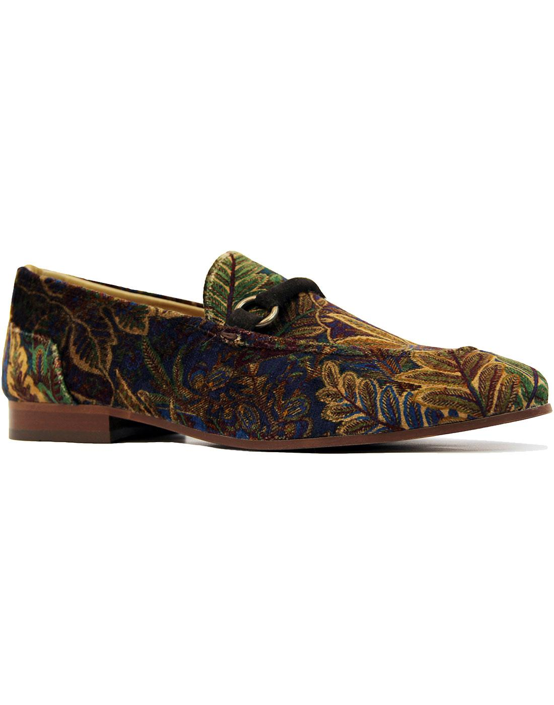 Renzo H by HUDSON Liberty London Print Mod Loafers