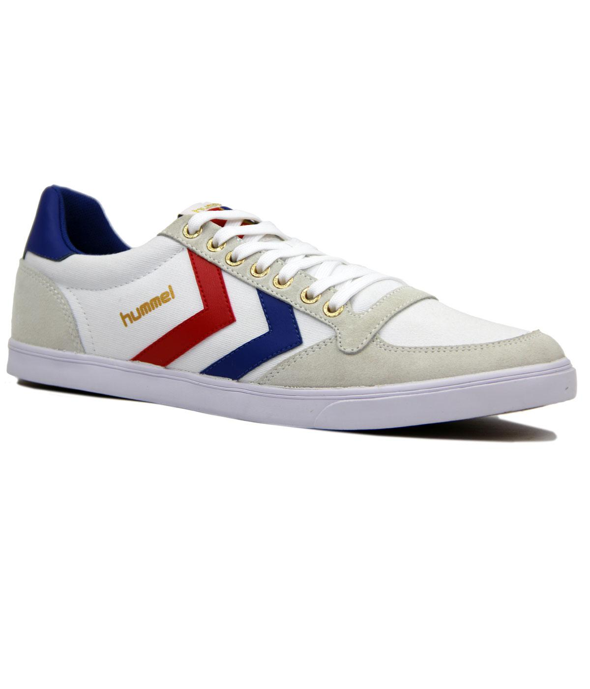 hummel slimmer stadil low trainers retro indie 70s canvas trainers. Black Bedroom Furniture Sets. Home Design Ideas