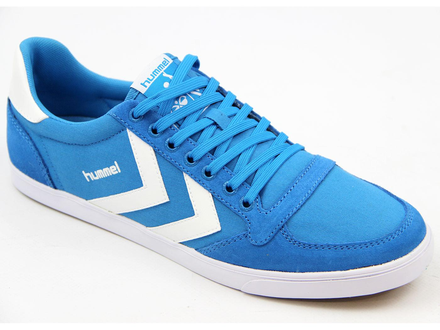 HUMMEL Slimmer Stadil Low Canvas Retro Trainers SB