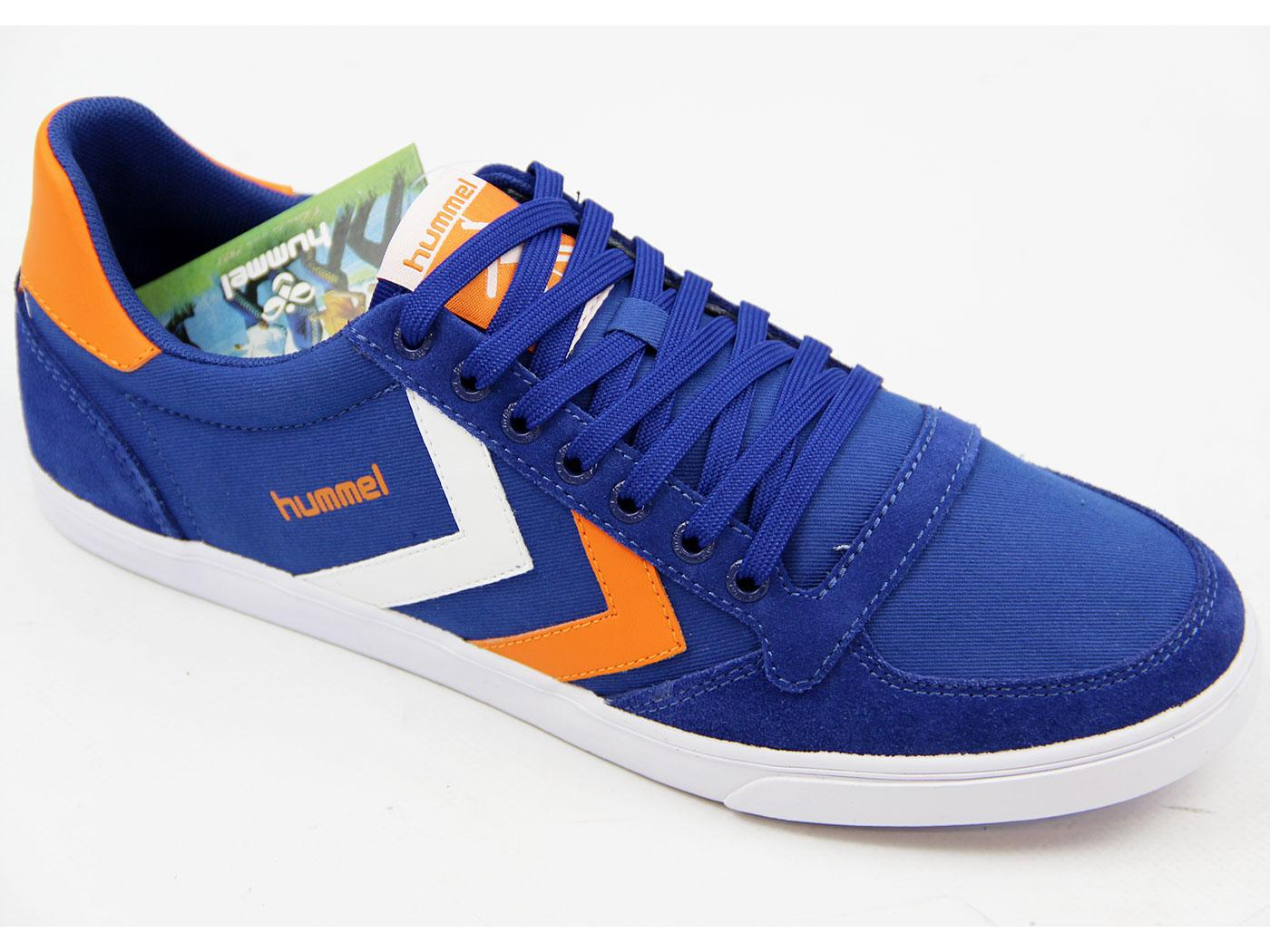 HUMMEL Slimmer Stadil Low Canvas Retro Trainers LB