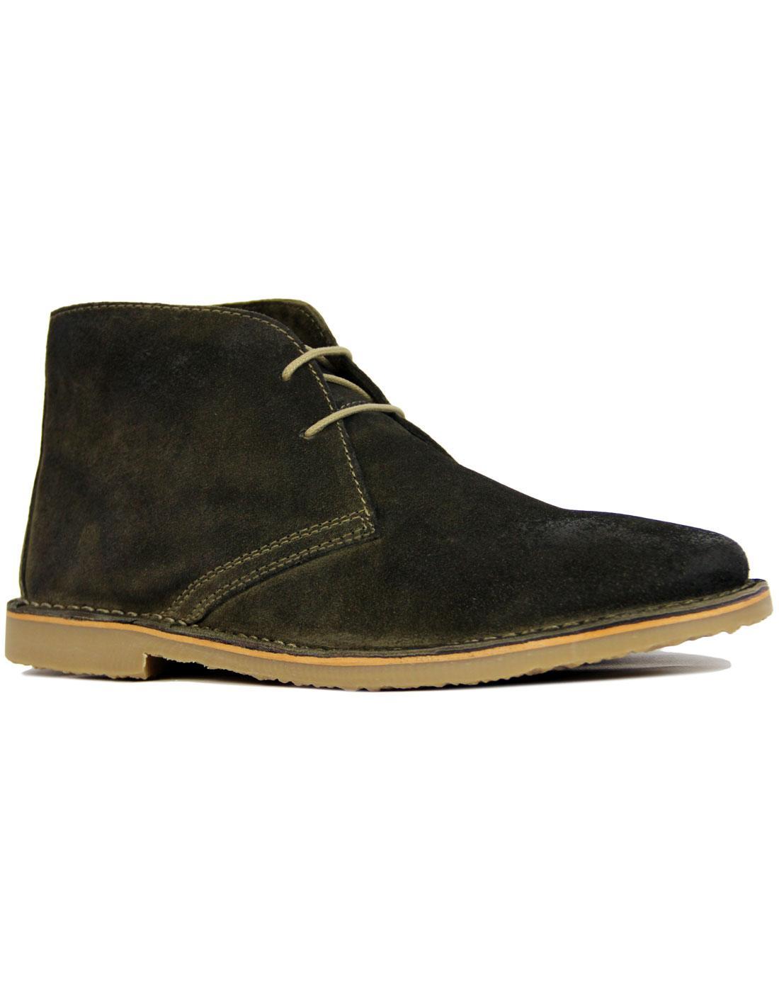 retro mod desert boots