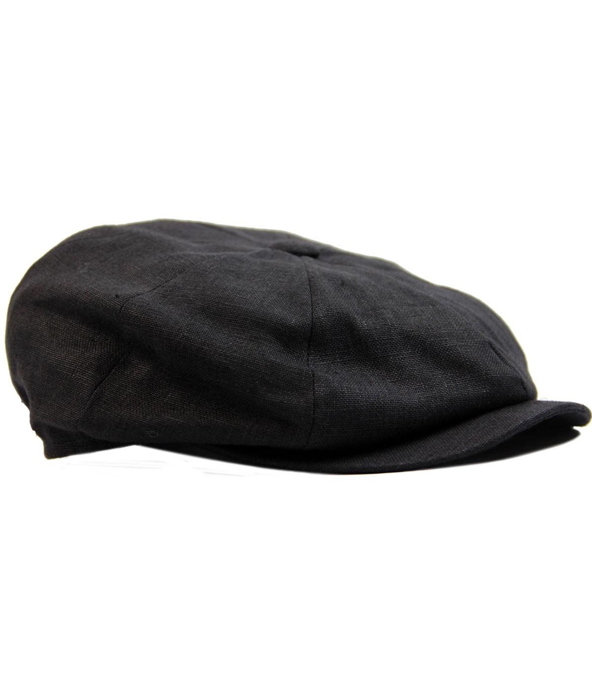 Alfie FAILSWORTH Irish Linen 8 Panel Gatsby Cap