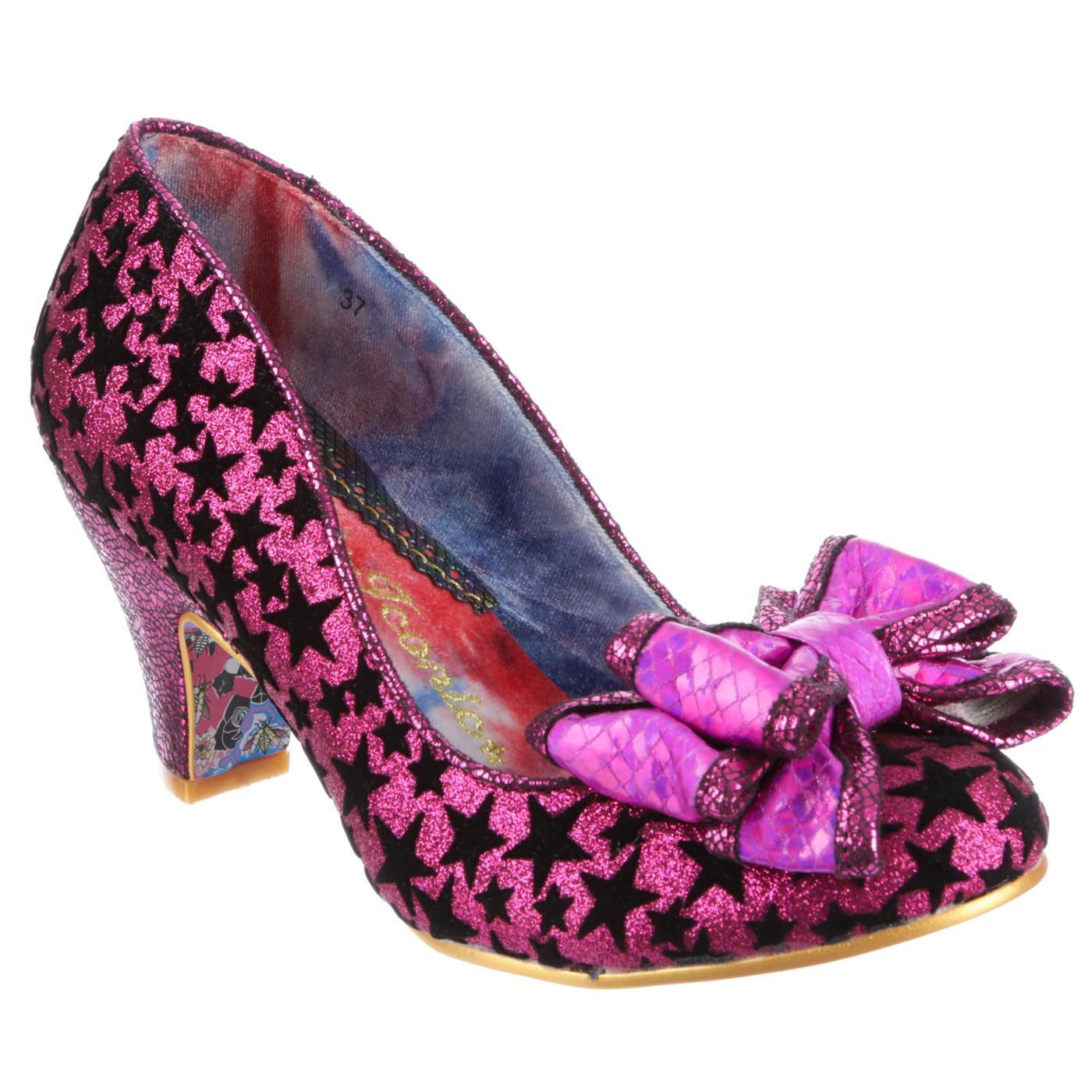 Ban Joe IRREGULAR CHOICE Shimmering Star Heels (P)