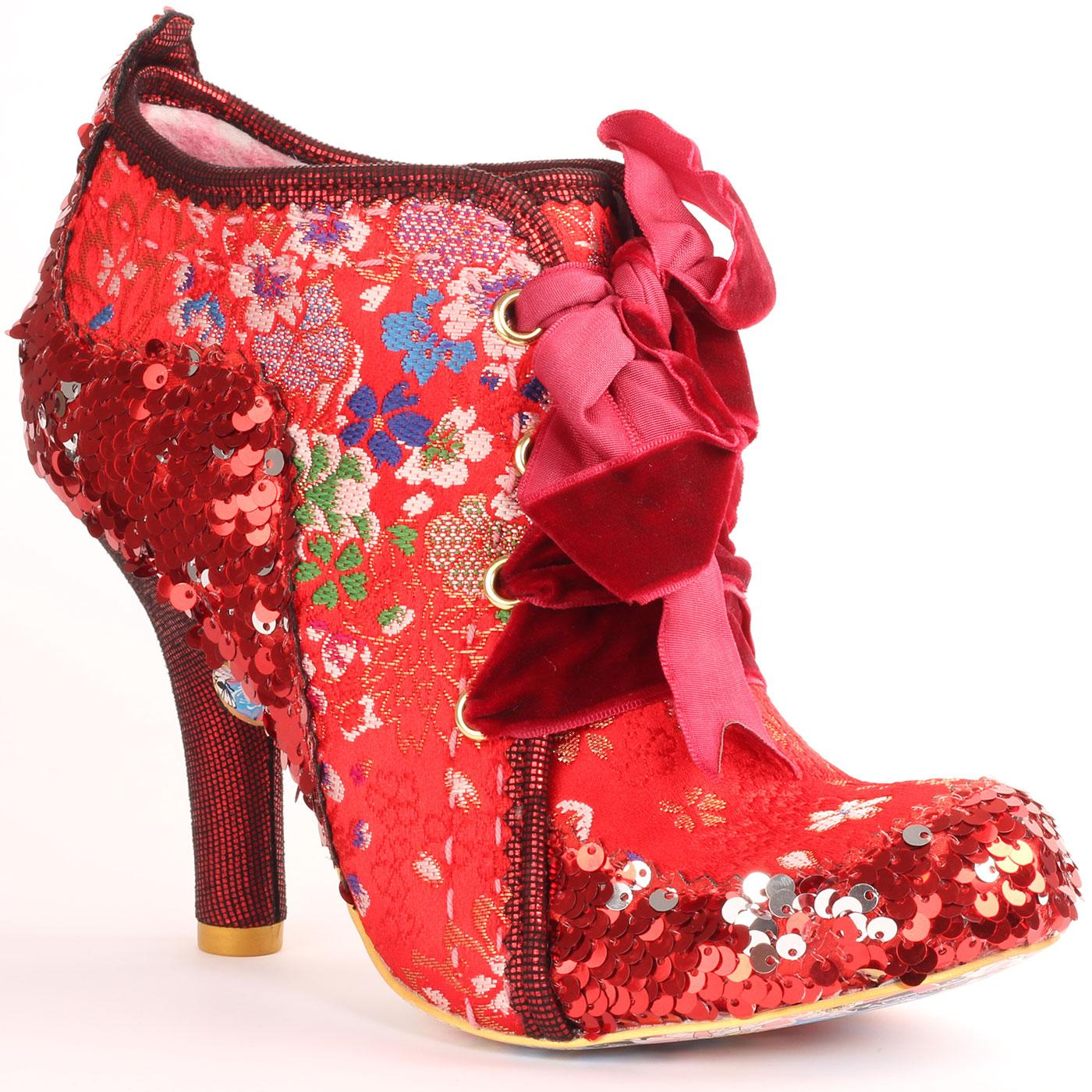 Abigails Third Party IRREGULAR CHOICE Boots RED