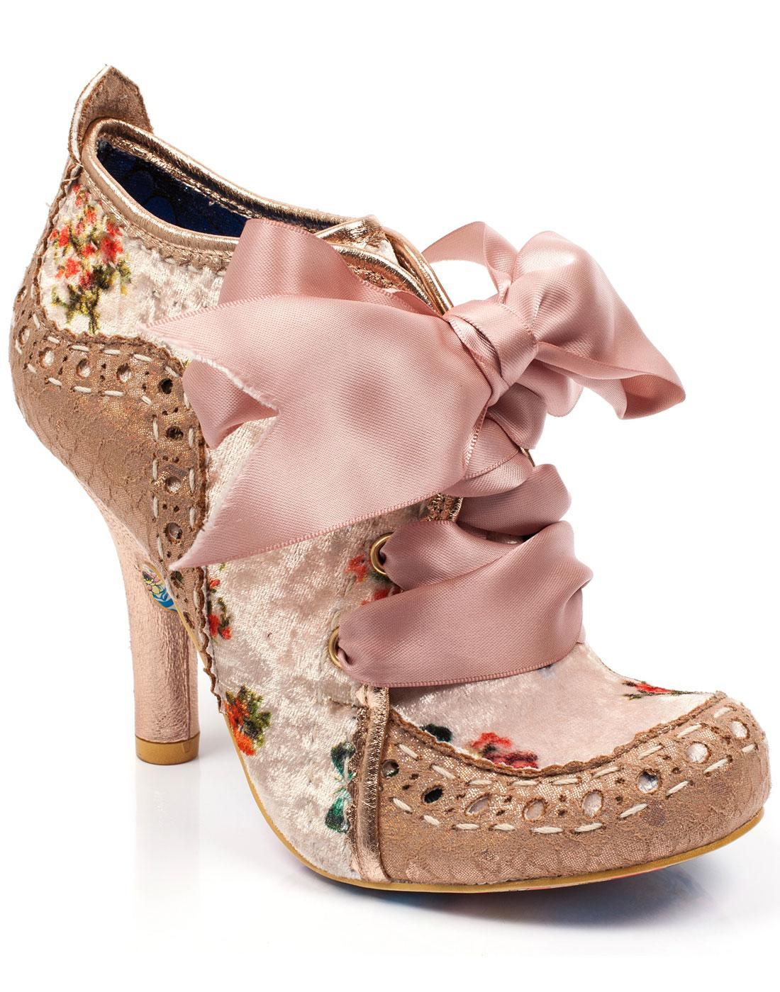 Abigail's 3rd Party IRREGULAR CHOICE Boots in Gold