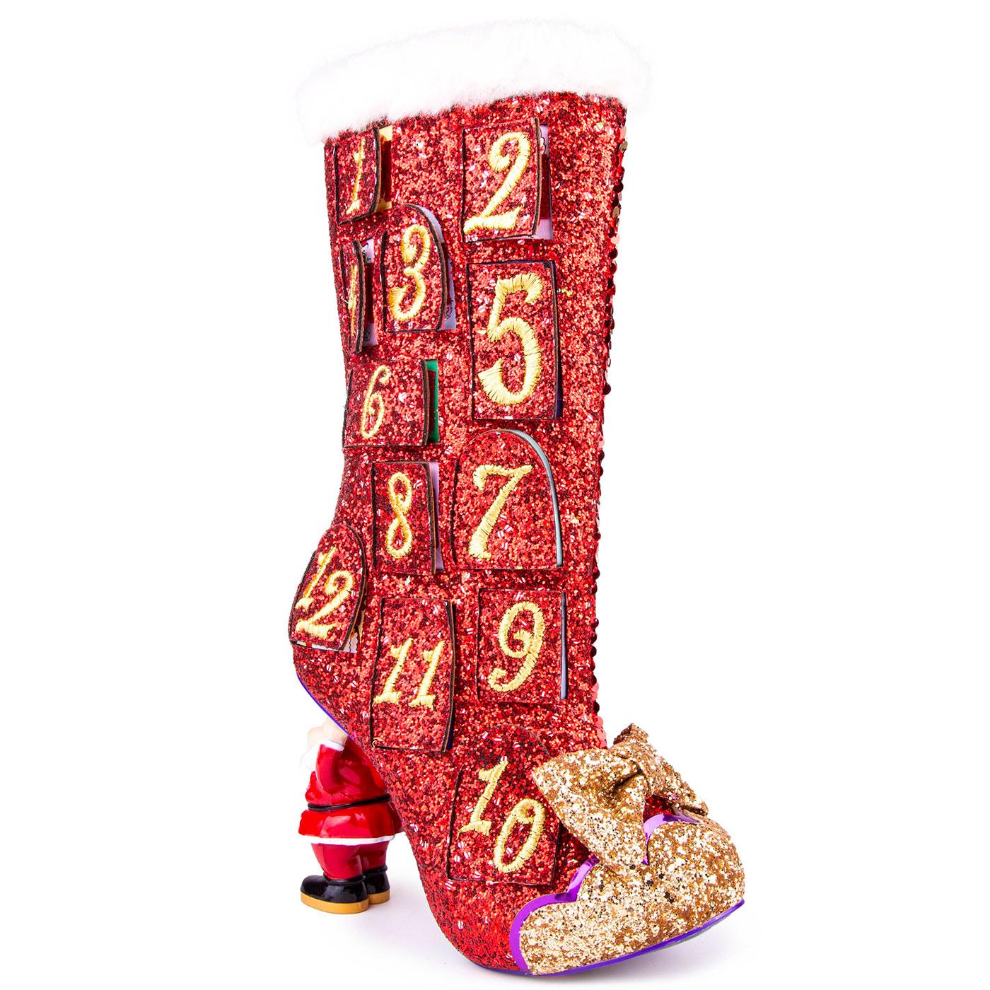 Advent Adventures IRREGULAR CHOICE Xmas Boots