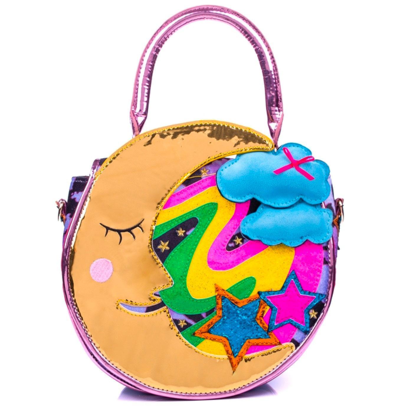 Astronaughty IRREGULAR CHOICE Moon Handbag