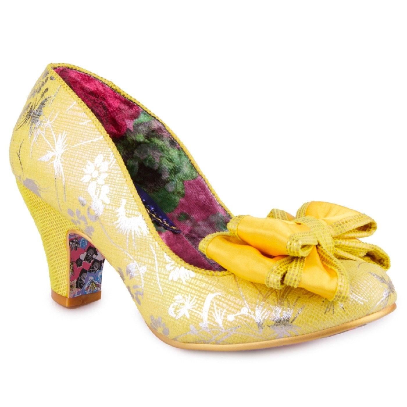 Ban Joe IRREGULAR CHOICE Fabric Floral Shoes (Y)