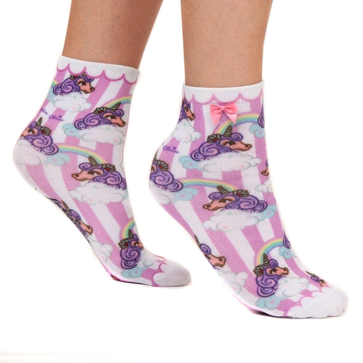 Lady Daisy IRREGULAR CHOICE Rainbow Ankle Socks