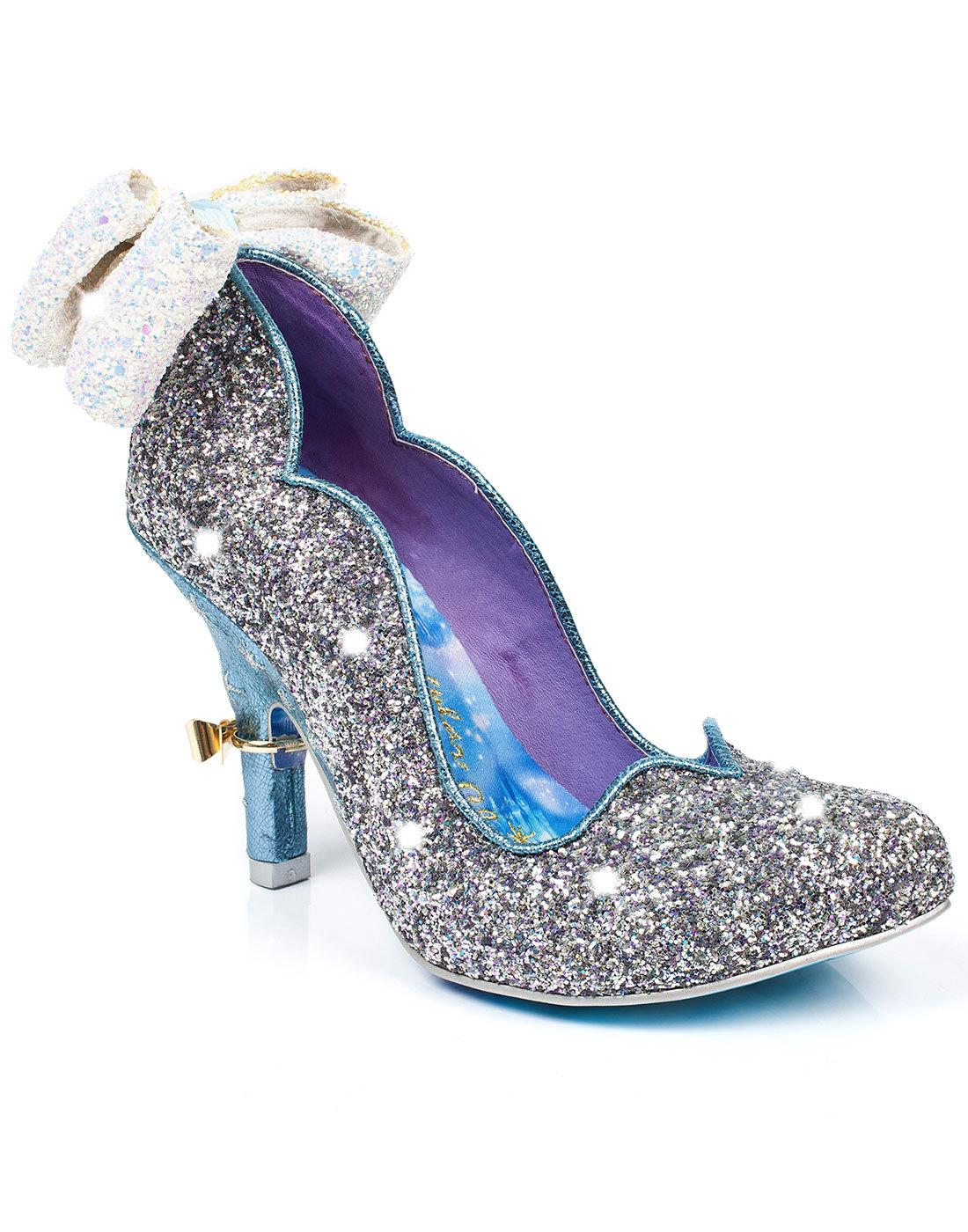 irregular choice sparkling slipper disney cinderella shoes
