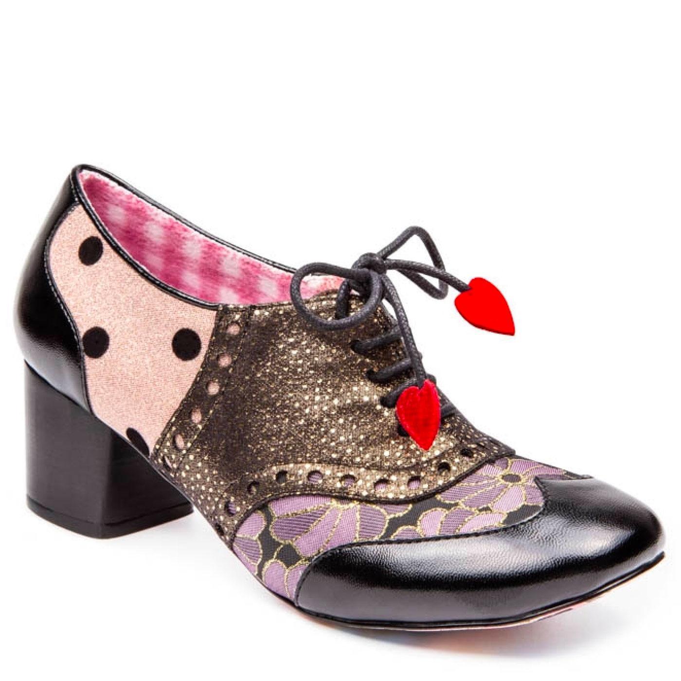Clara Bow IRREGULAR CHOICE Retro 60s Mod Shoes