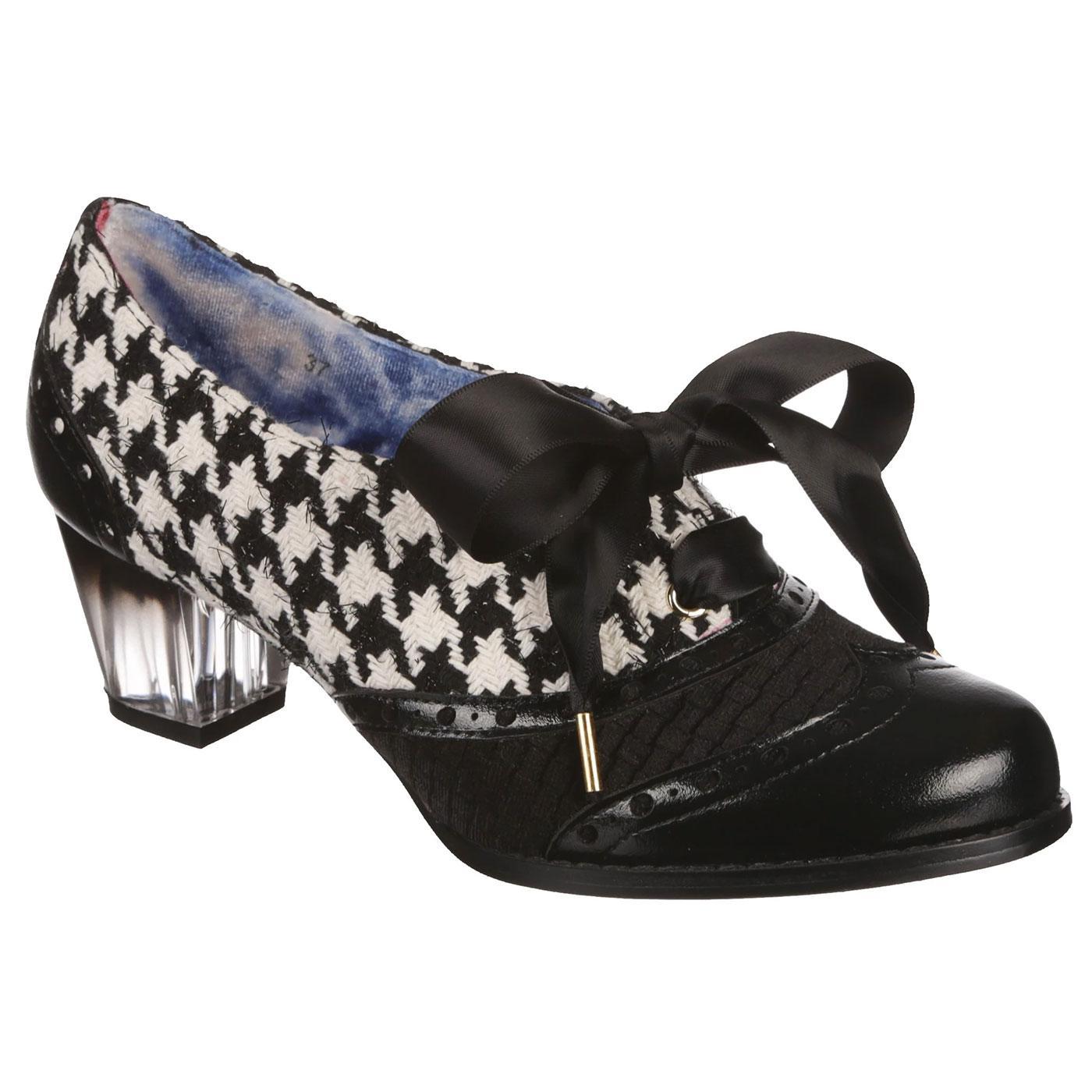 Corporate Beauty IRREGULAR CHOICE Retro Heels B/W