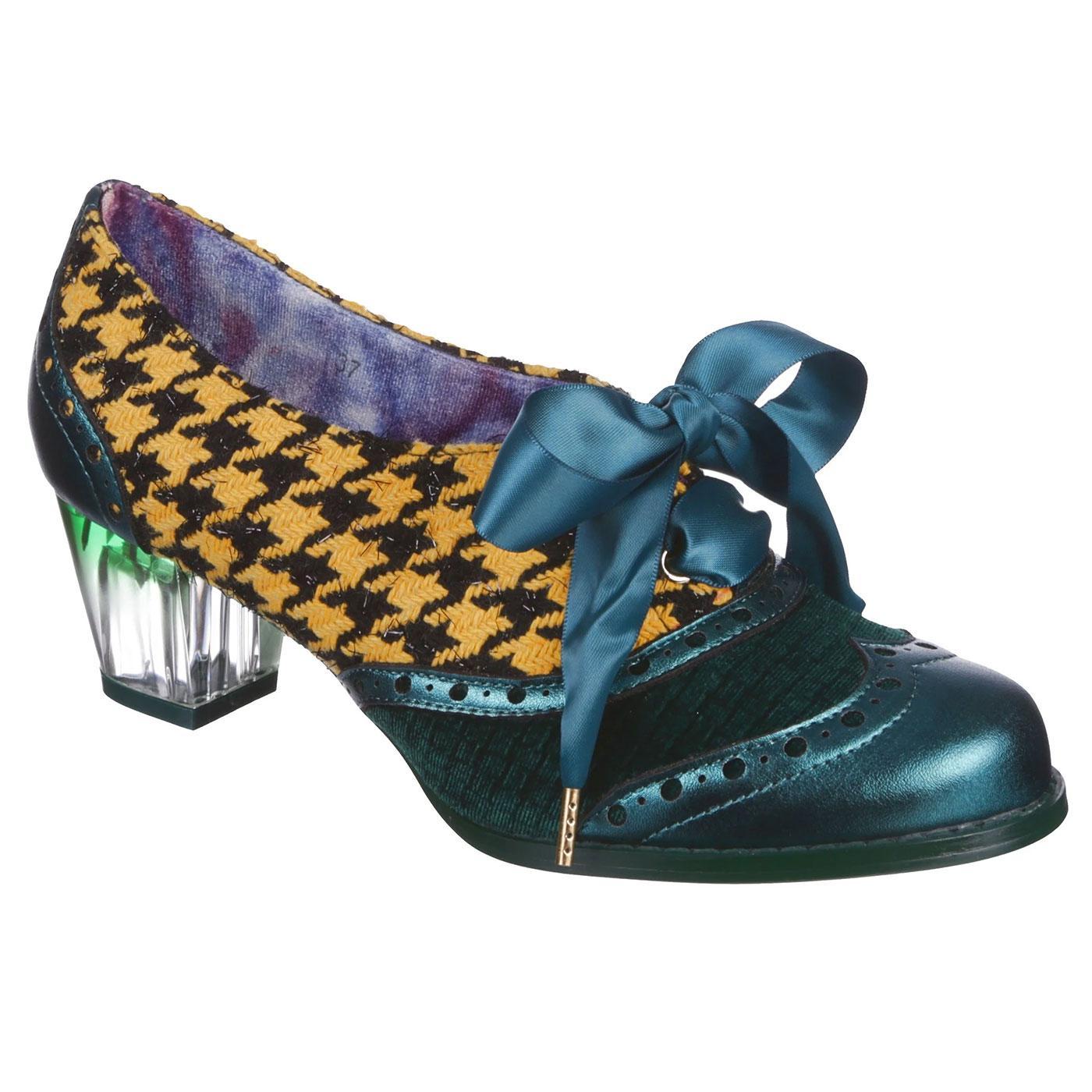 Corporate Beauty IRREGULAR CHOICE Retro Heels B/Y