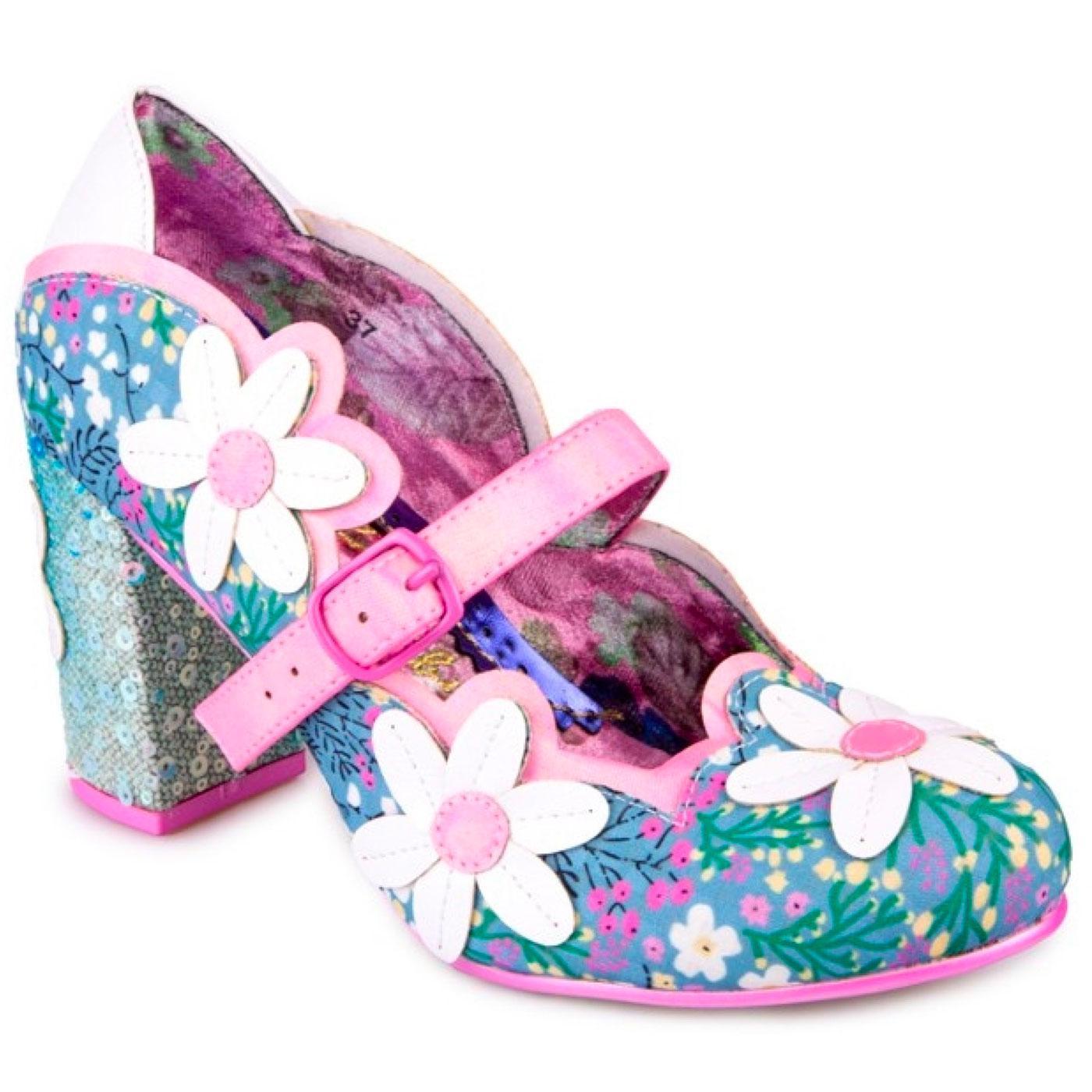 Daisy Dancer IRREGULAR CHOICE Retro 60s Shoes B