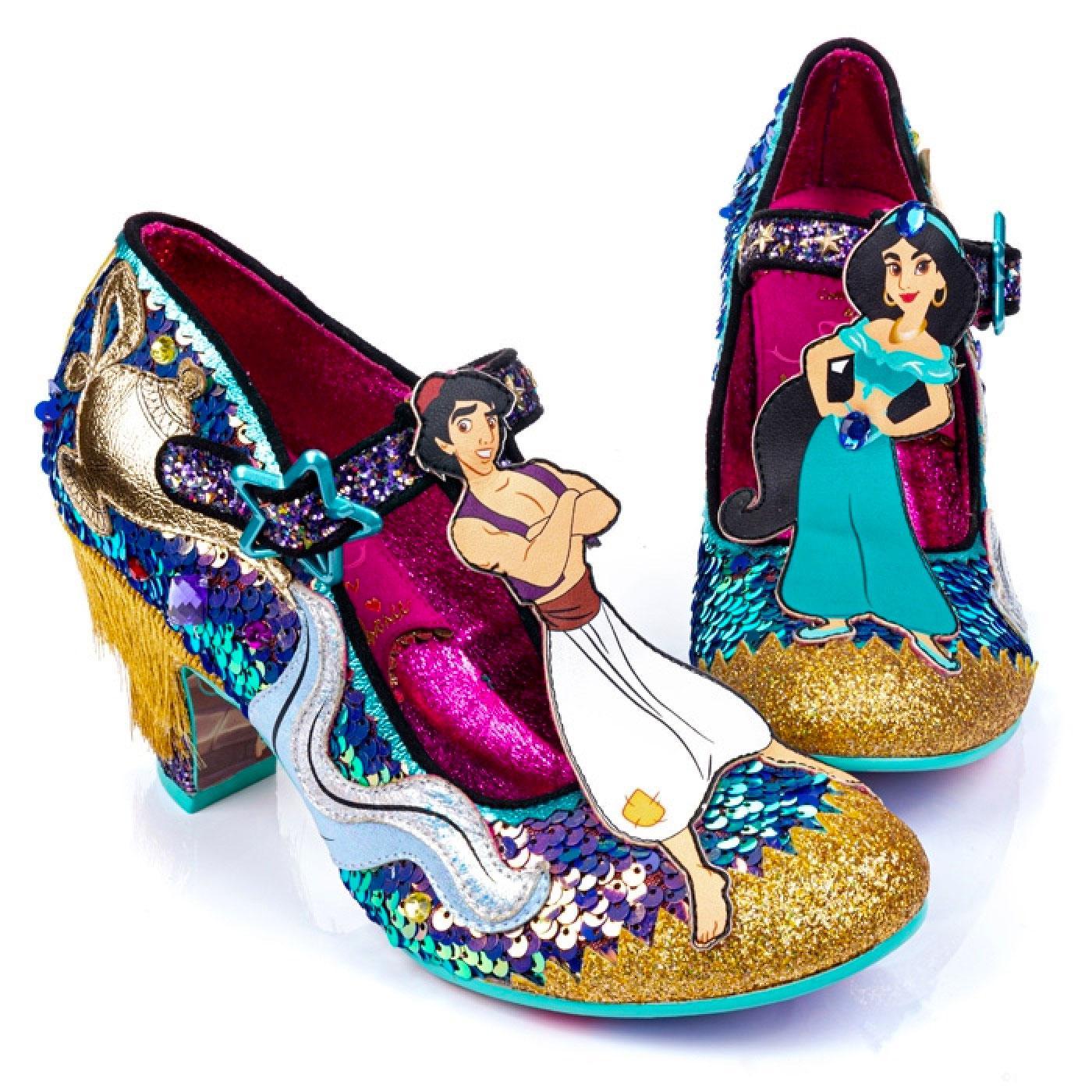 A Whole New World IRREGULAR CHOICE Aladdin Heels