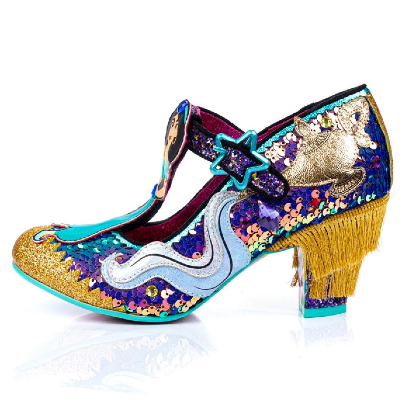 A Whole New World Blue Aladdin Heels