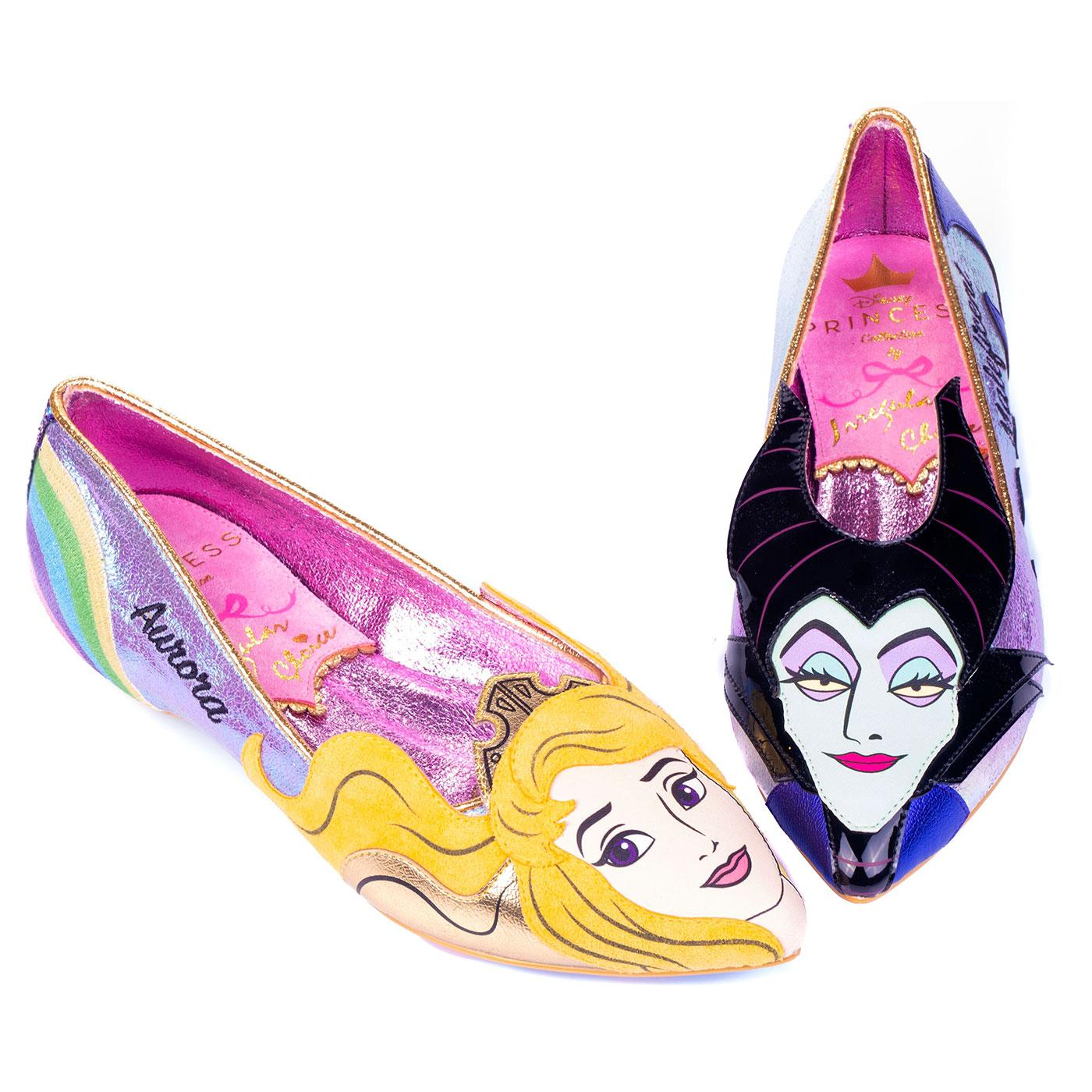 Dark Vs Light IRREGULAR CHOICE Disney Flats