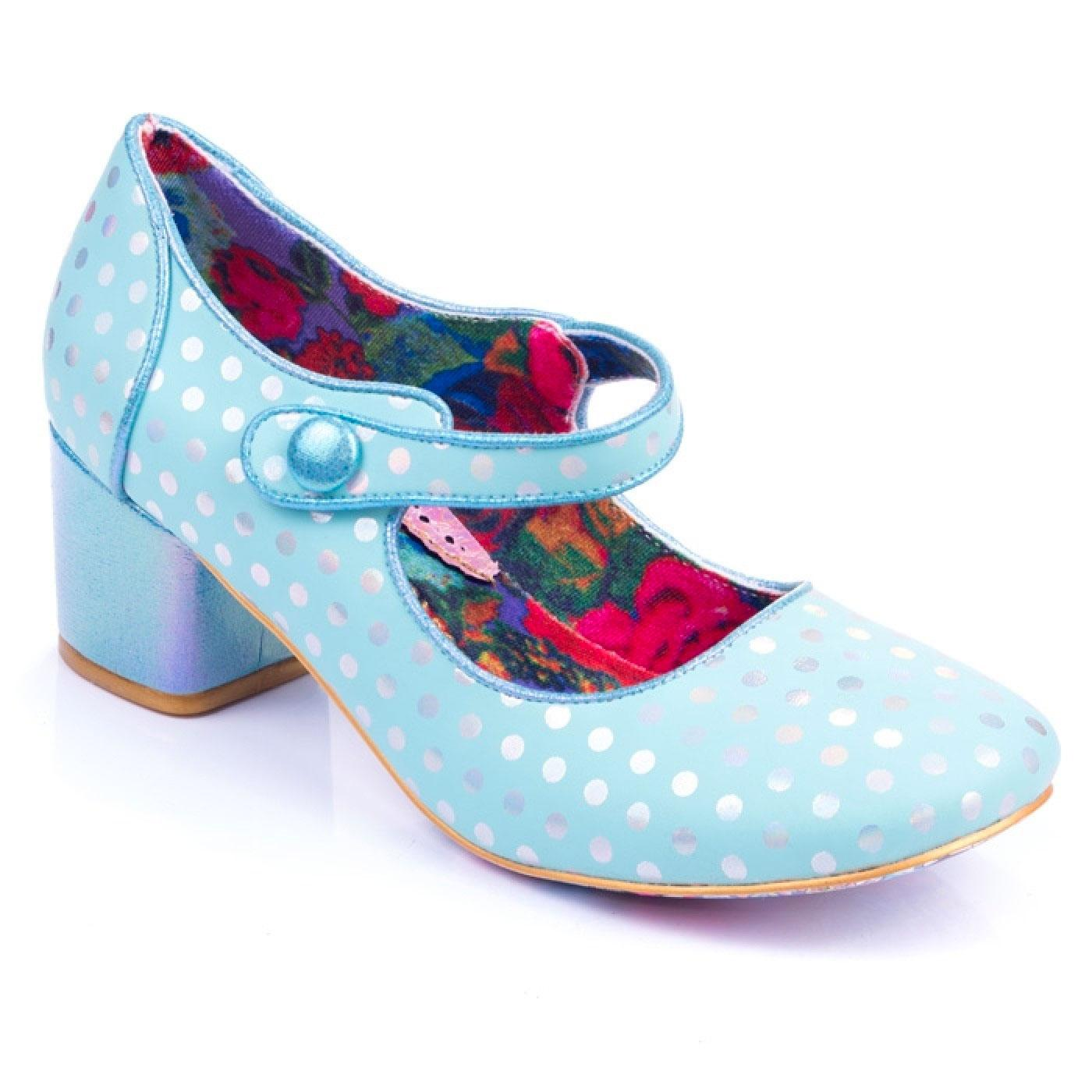 Dotty For You IRREGULAR CHOICE Metallic Dot Heel G