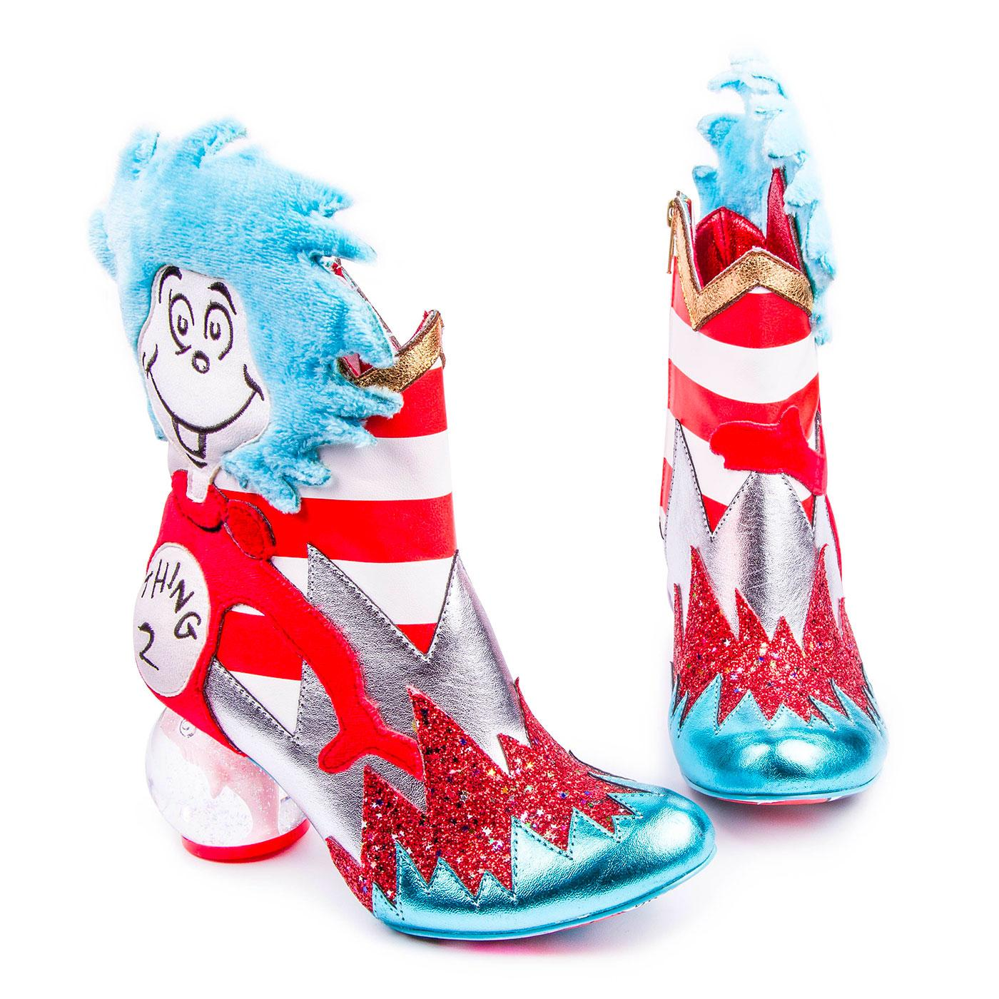 IRREGULAR CHOICE Up Up Up With The Fish Boots