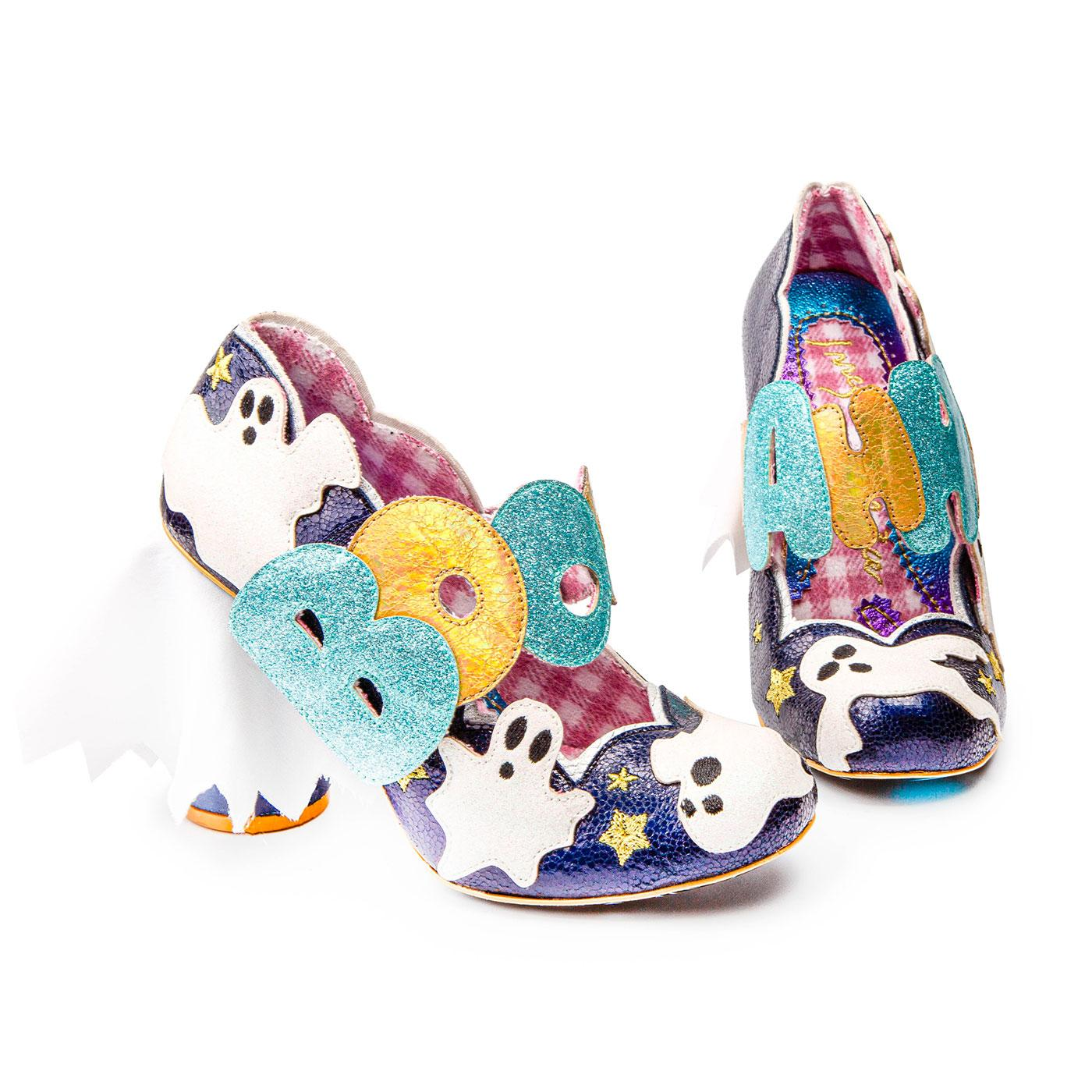 Ectoplasmic IRREGULAR CHOICE Halloween Ghost Shoes