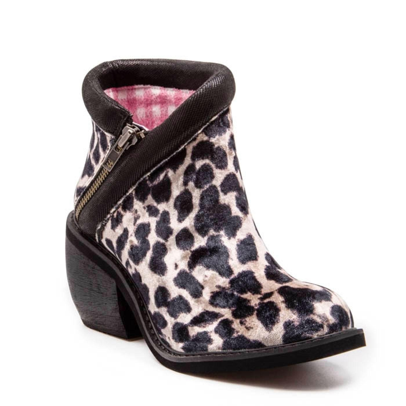 Eggie Soldiers IRREGULAR CHOICE Leopard Print Boot