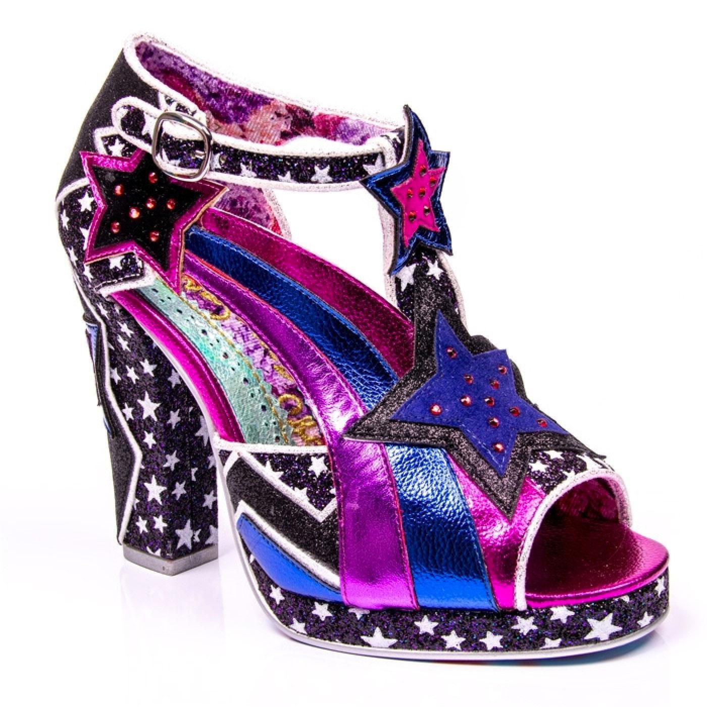 Eres Hermosa IRREGULAR CHOICE Retro 70s Glam Shoes