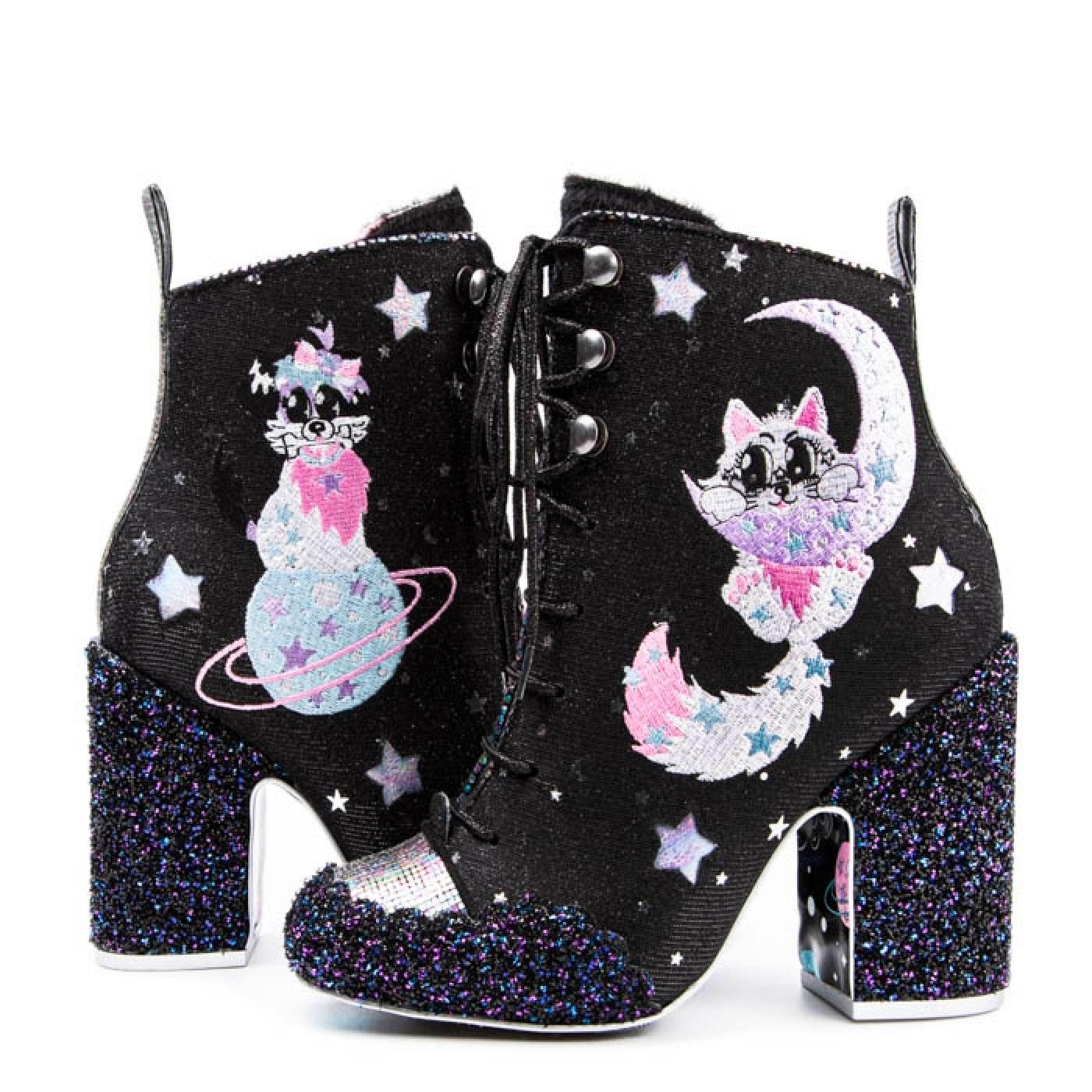 Felicette IRREGULAR CHOICE Cosmic Star Space Boots