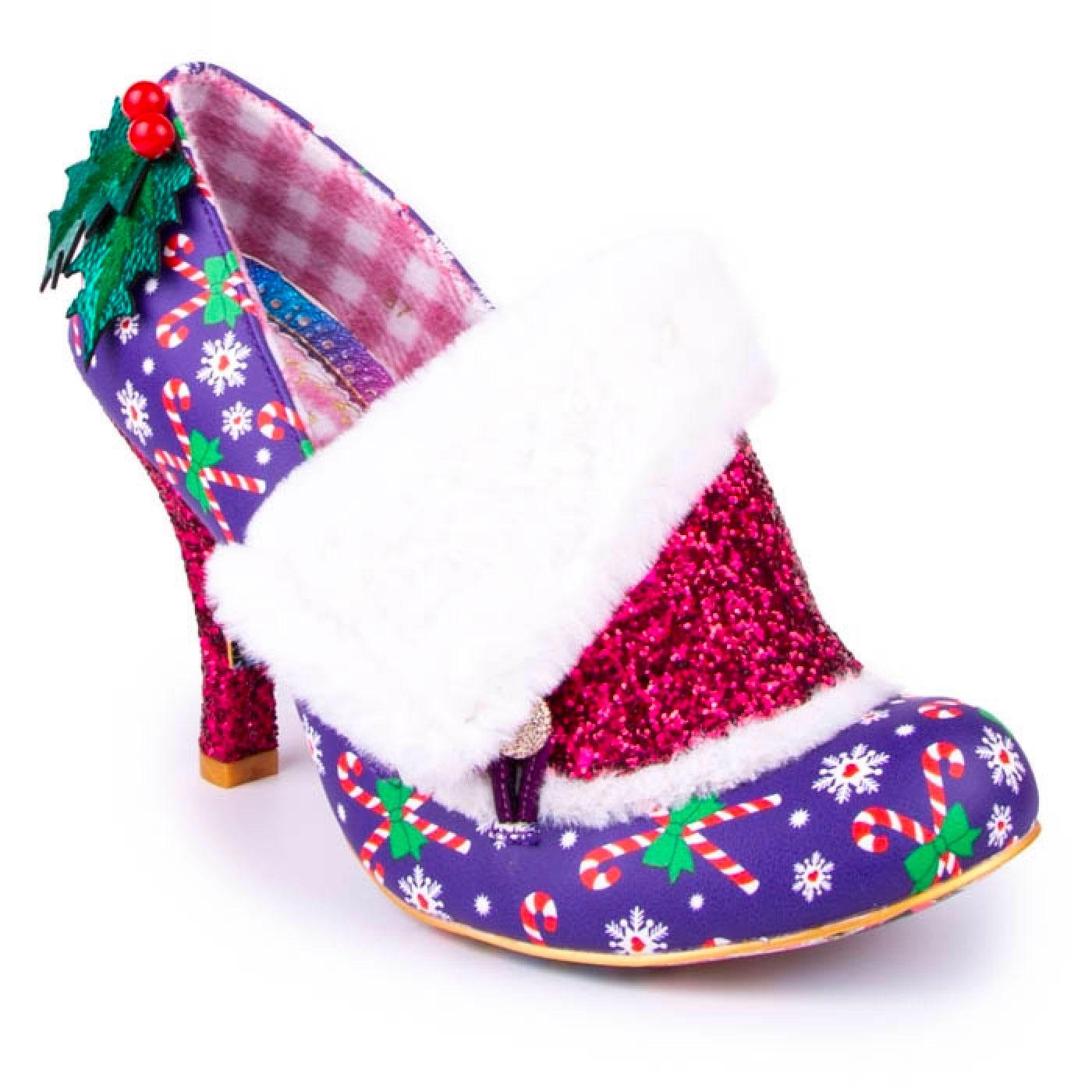 Festive Flack IRREGULAR CHOICE Christmas Shoes