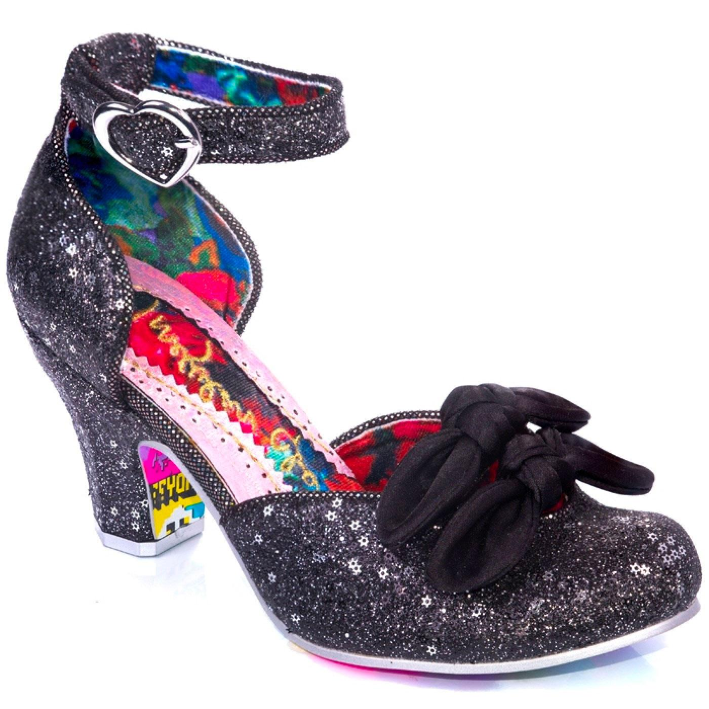 Flickety Kiss IRREGULAR CHOICE Glitter Mid-Heel B