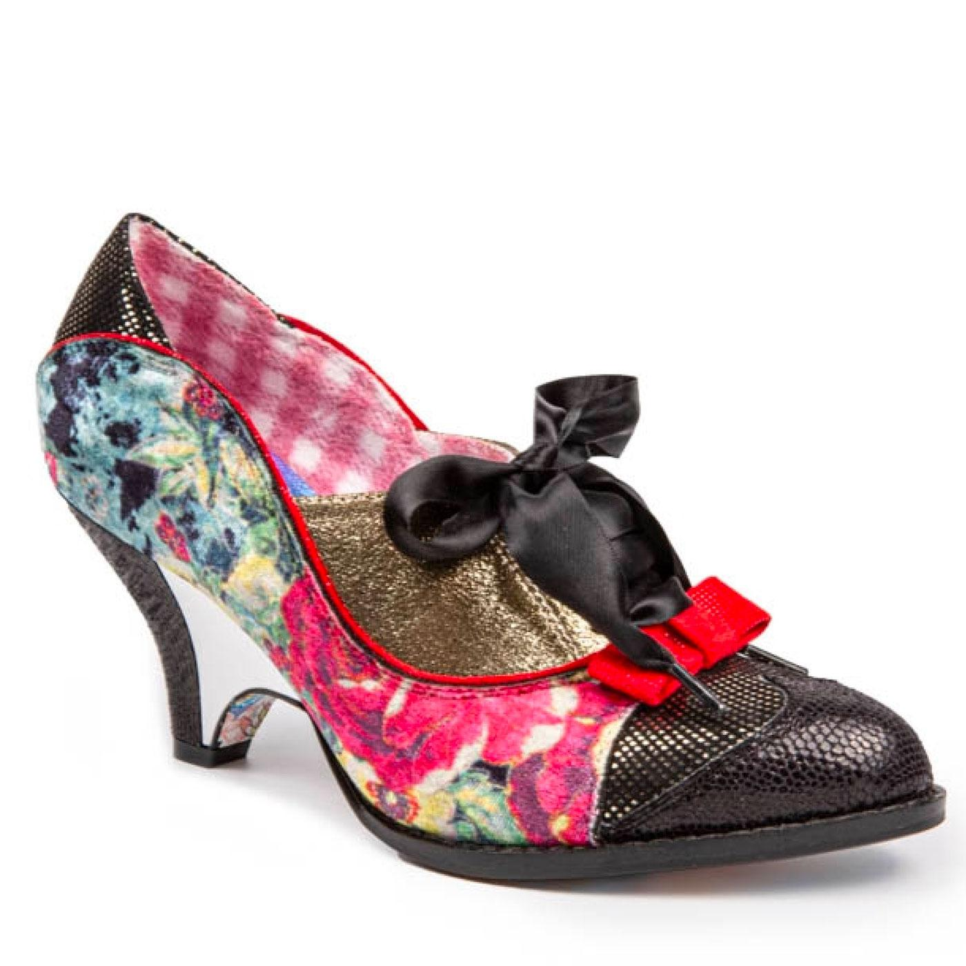 Force of Beauty IRREGULAR CHOICE Retro Heels