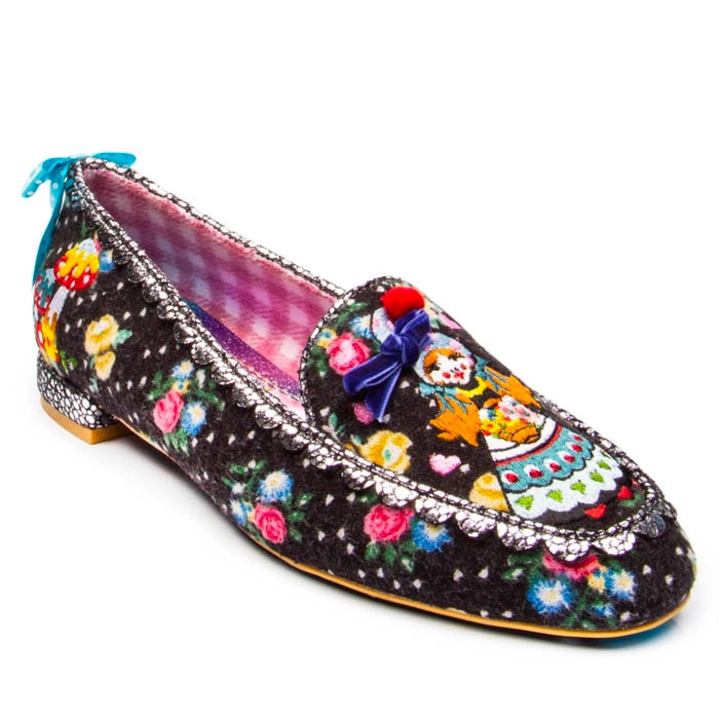 Forest Maiden IRREGULAR CHOICE Retro Loafers