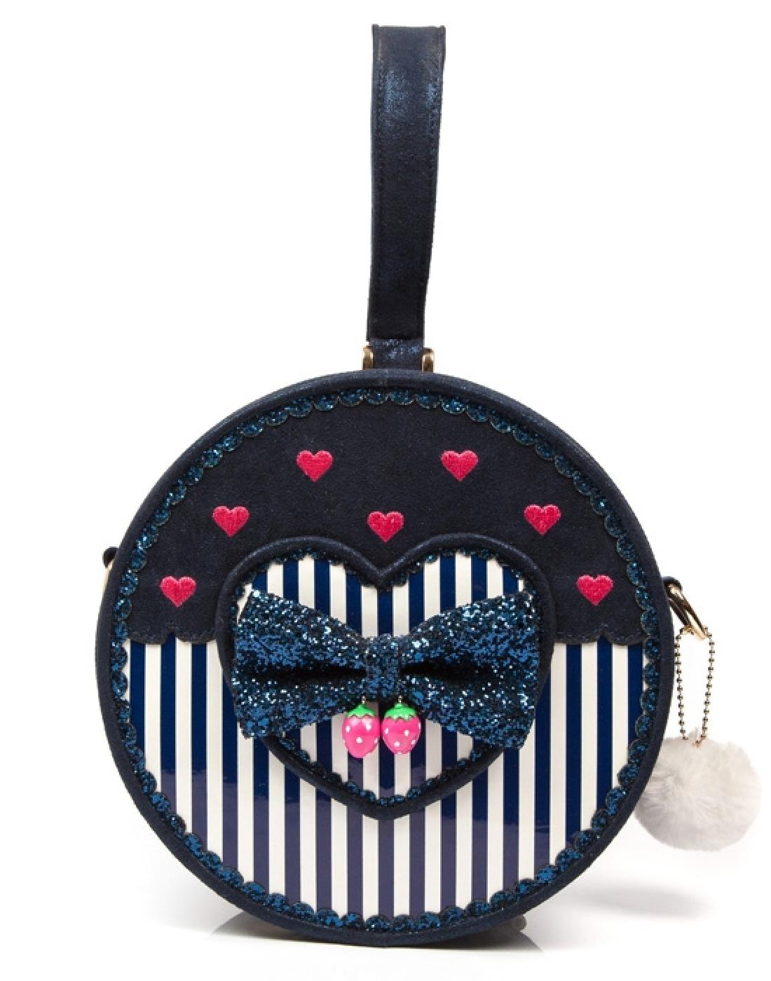 Freya IRREGULAR CHOICE Retro 60s Box Bag - Blue