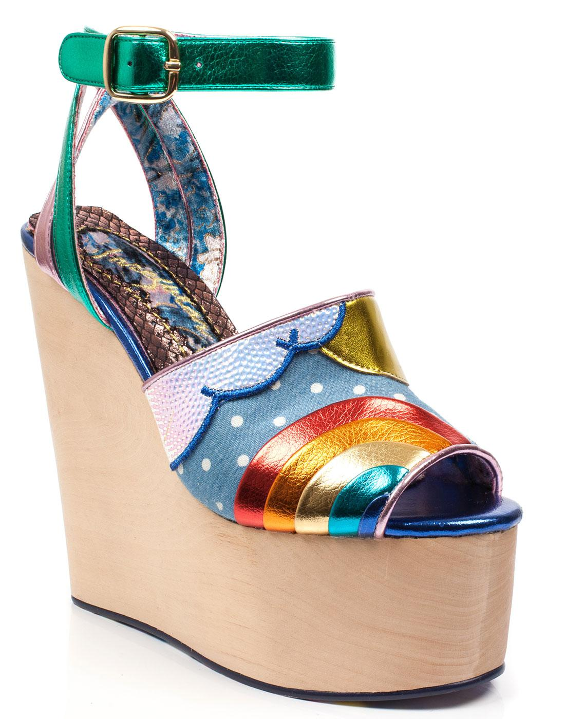 Funshine IRREGULAR CHOICE Retro 70s Platform Shoes