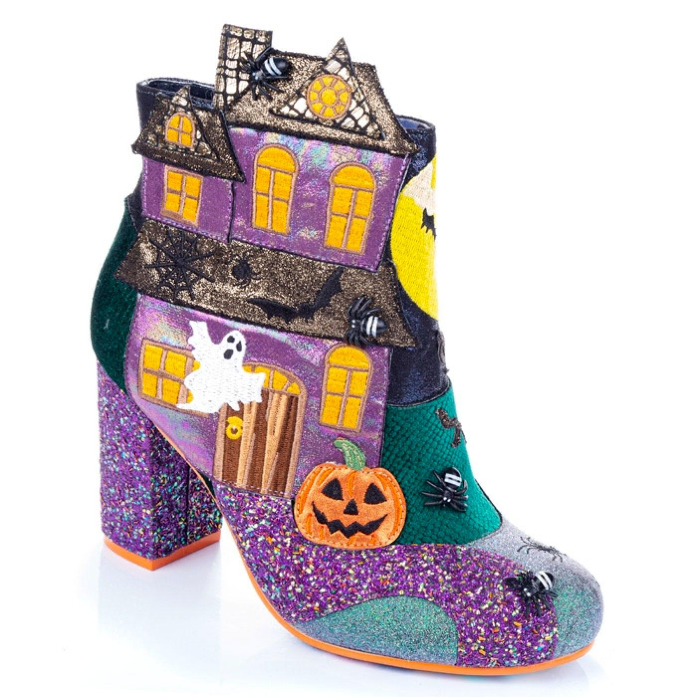 Ghost House IRREGULAR CHOICE Haunted House Boots