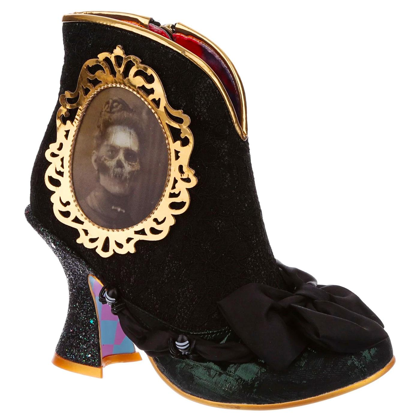 Ghostly Waltz IRREGULAR CHOICE Halloween Boots