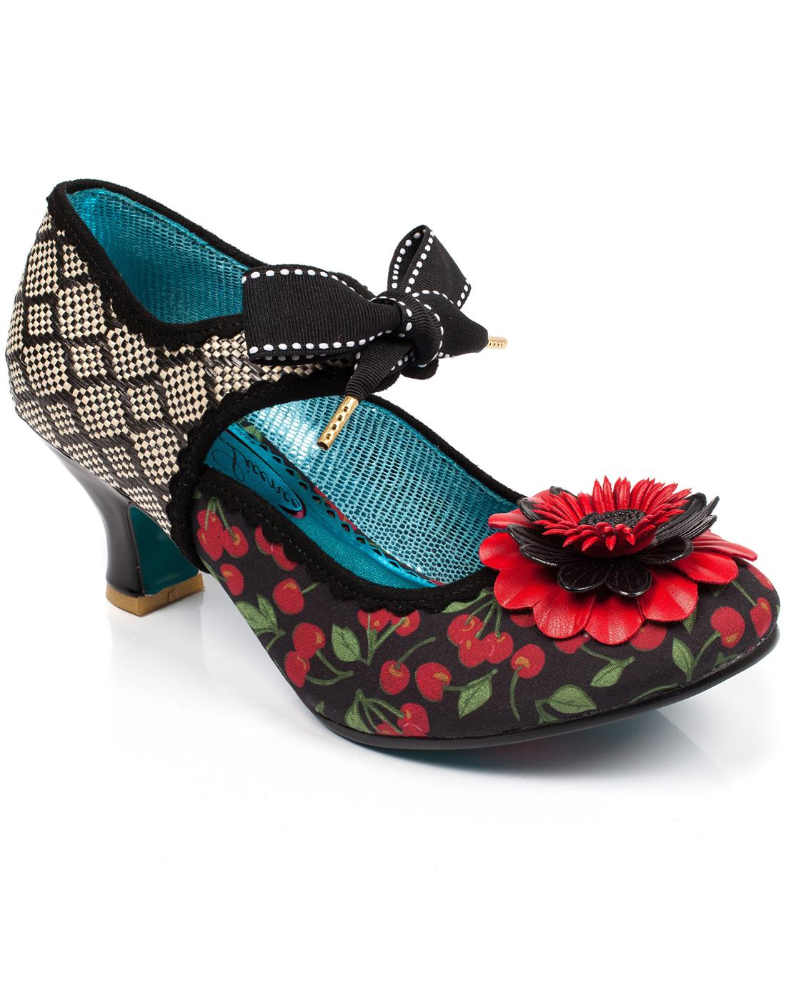 Golden Daisy POETIC LICENCE Retro Floral Heels B