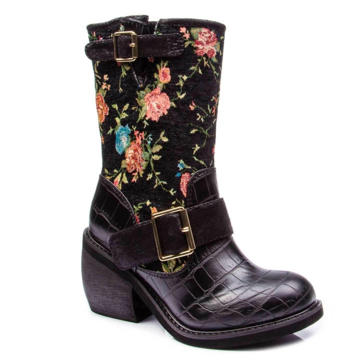 Great Escape IRREGULAR CHOICE Retro Floral Boots
