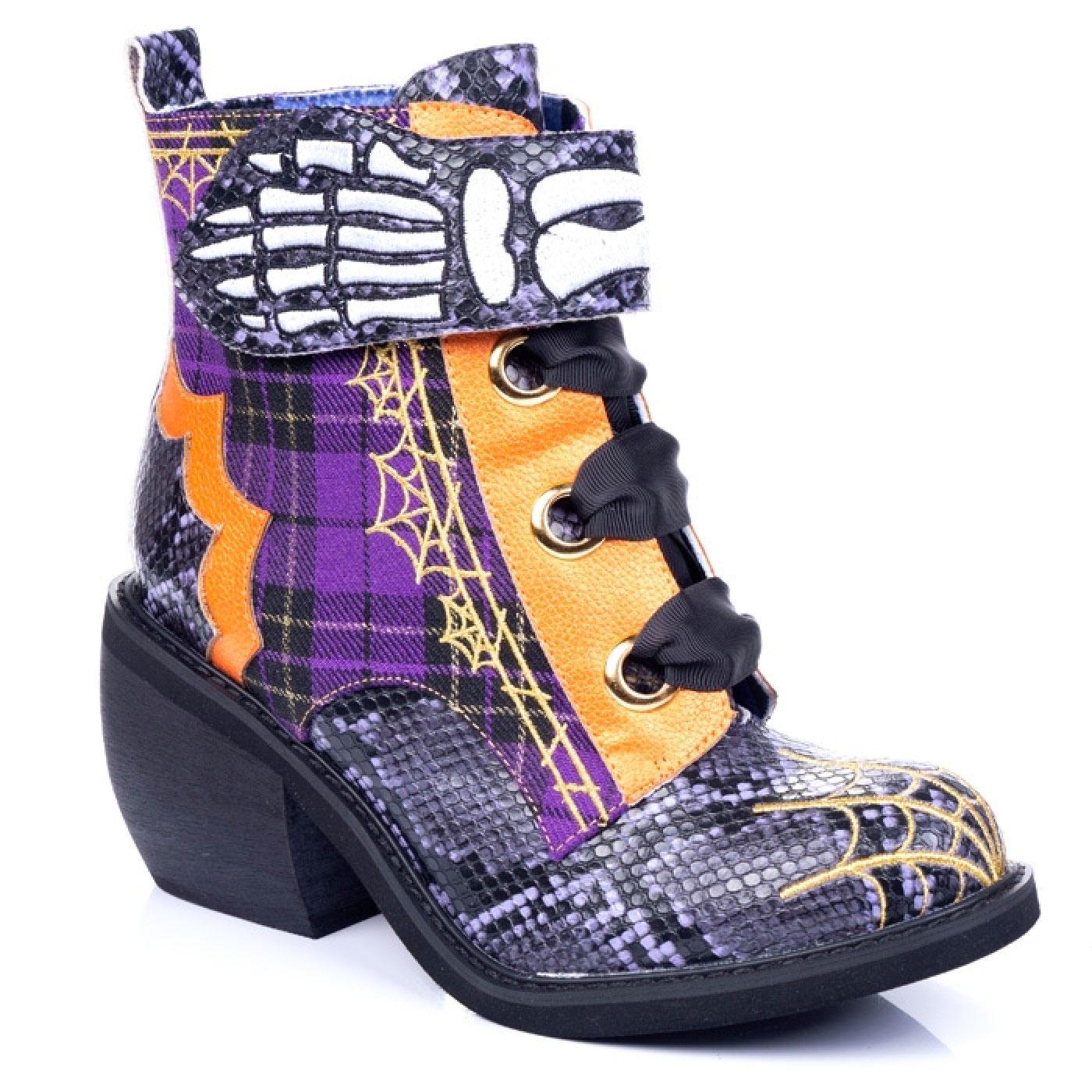Quick Run IRREGULAR CHOICE Halloween Boots