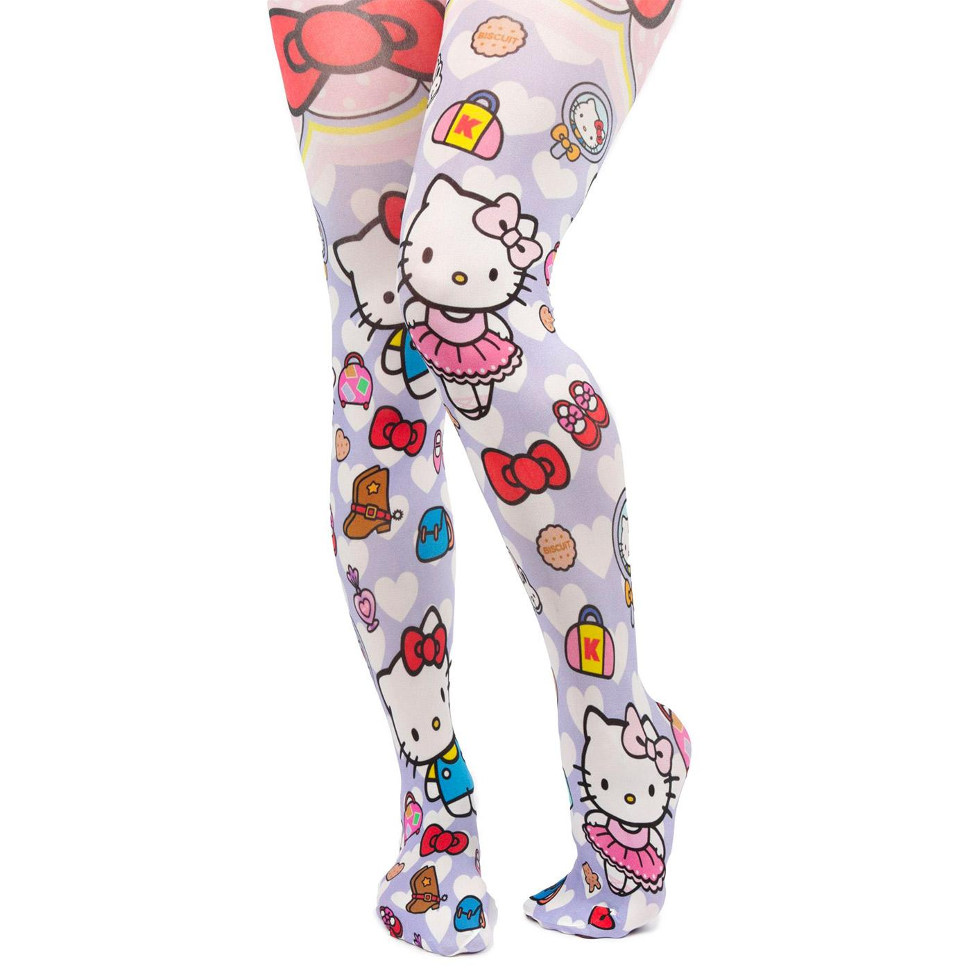 IRREGULAR CHOICE x HELLO KITTY Dress Up Tights