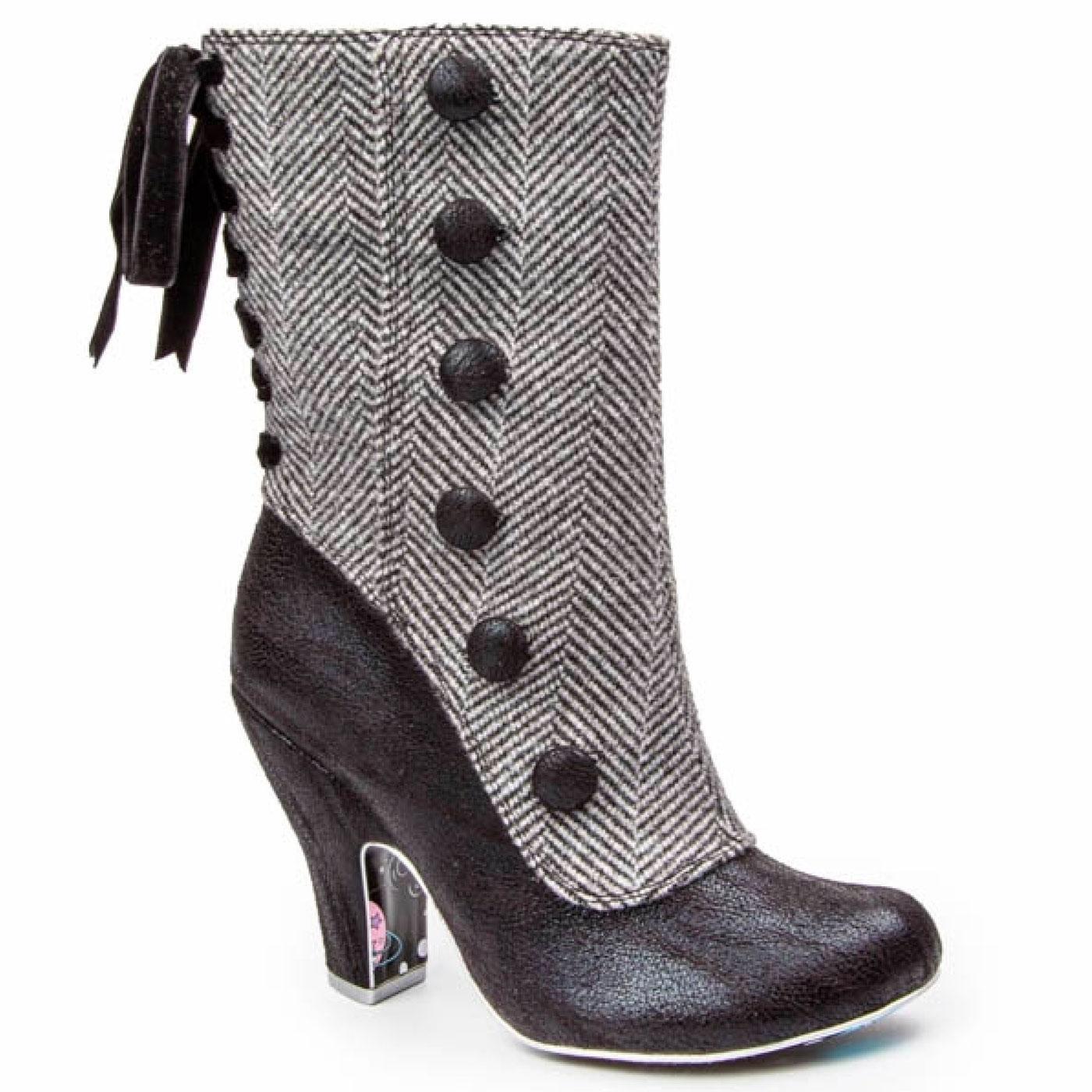 Reinette IRREGULAR CHOICE Vintage Mid Calf Boots