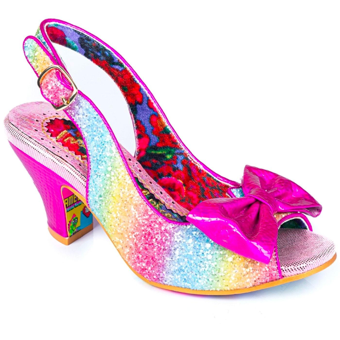 Hiya Synth IRREGULAR CHOICE Rainbow Heels PINK