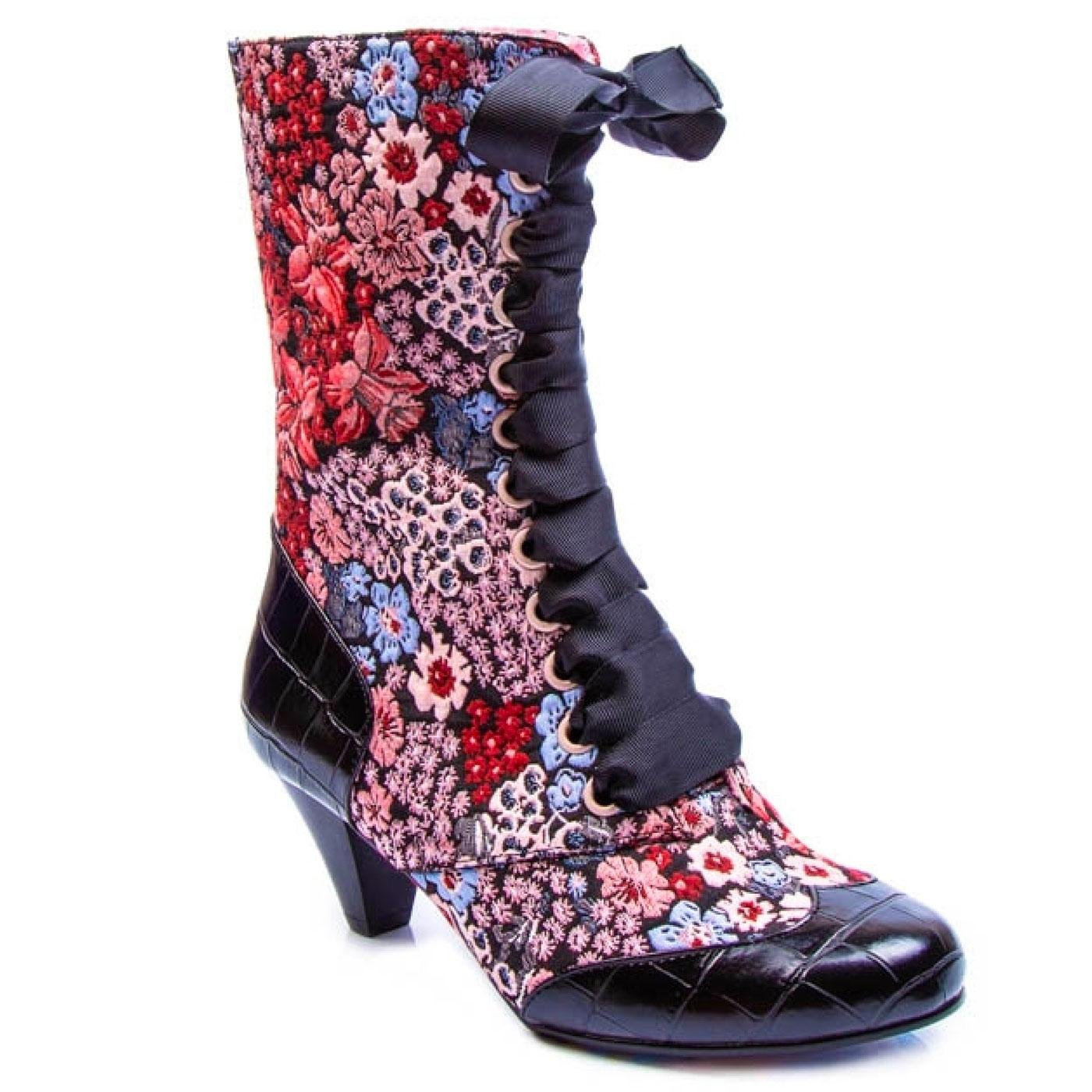 Lady Victoria IRREGULAR CHOICE Vintage Style Boots