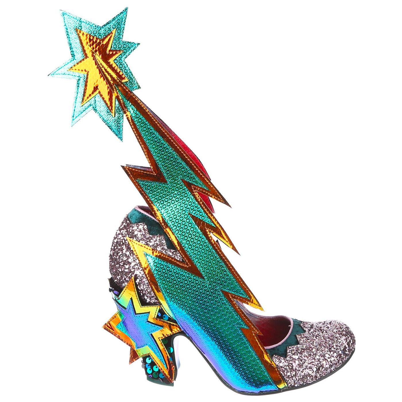 Shoot For The Stars IRREGULAR CHOICE Retro Heels